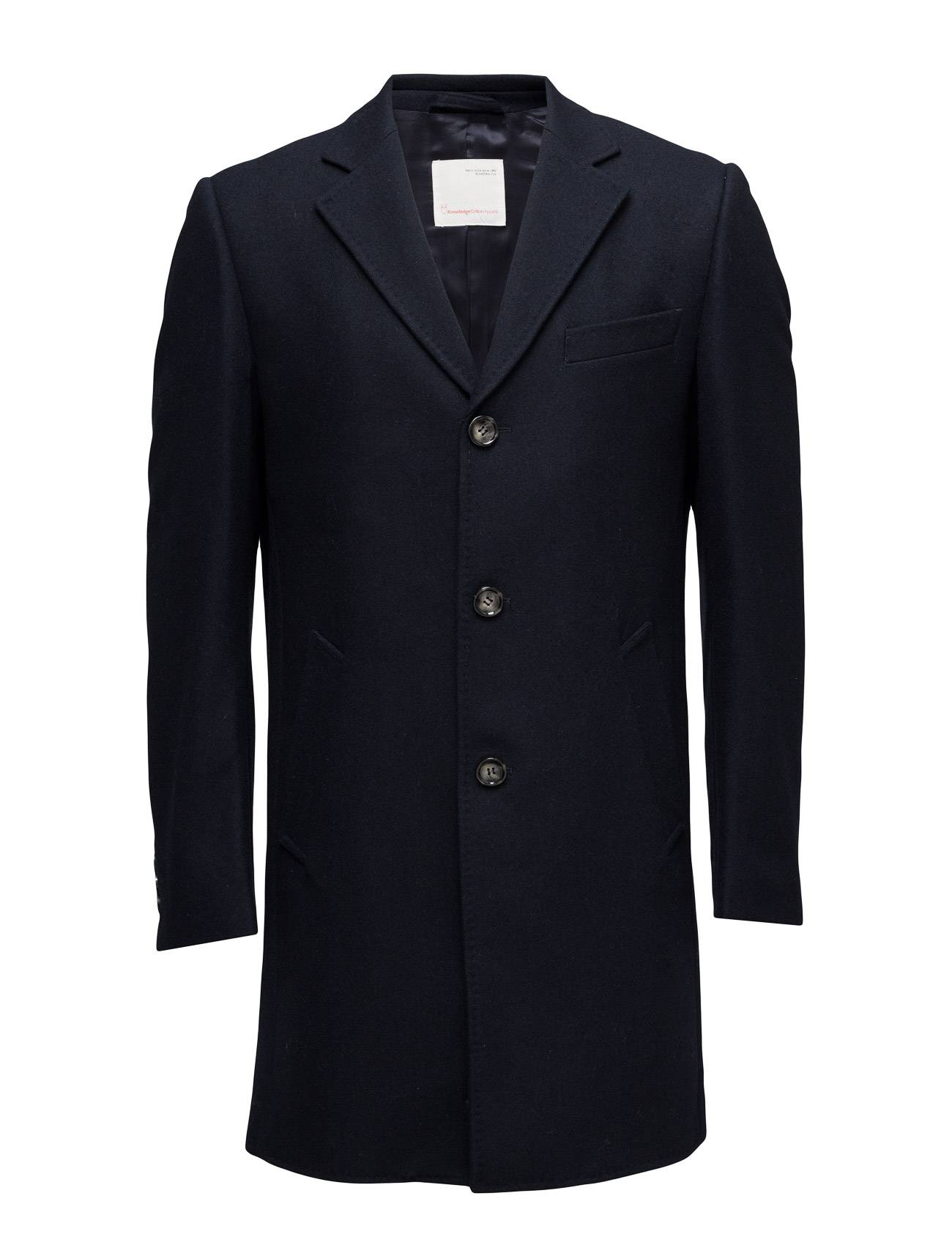 Knowledge Cotton Apparel Wool Coat - Grs