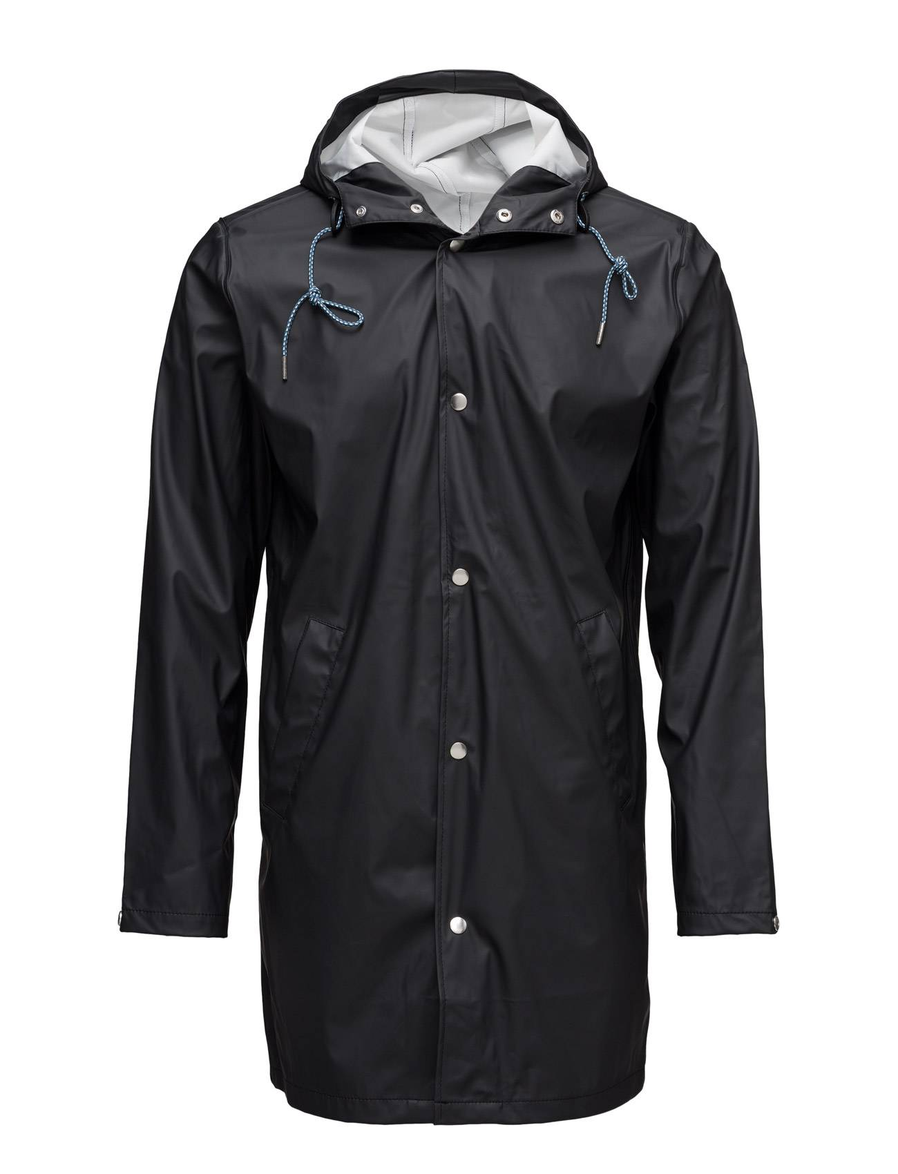 Knowledge Cotton Apparel Long Rain Jacket