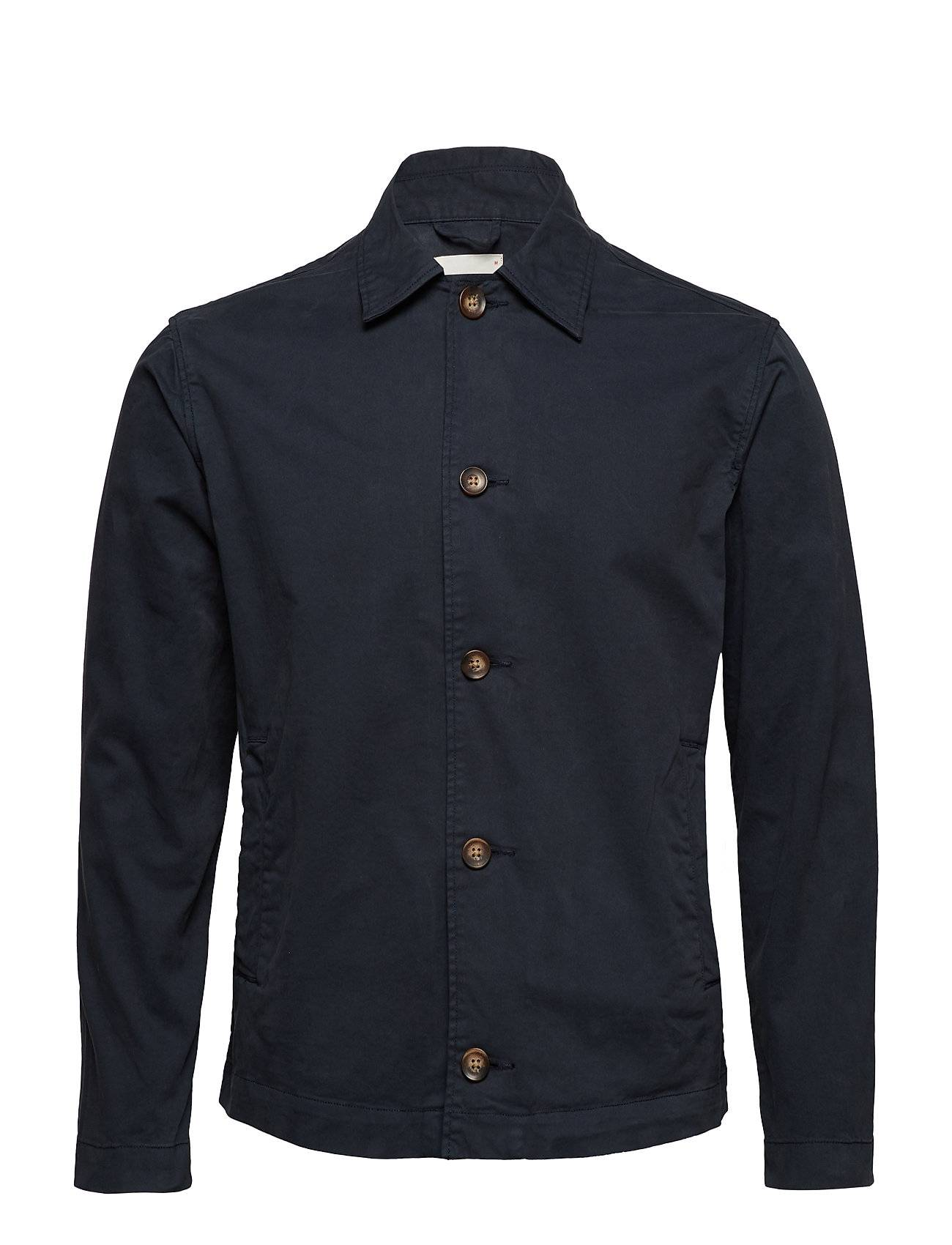 Knowledge Cotton Apparel Stretched Overshirt - Gots/Vegan