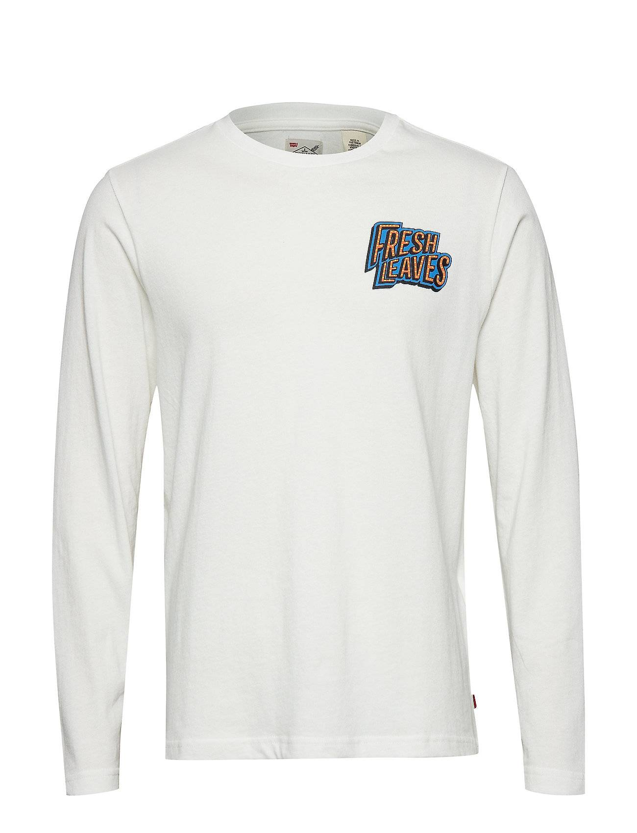 LEVI´S Men Ls Graphic Mighty T Intre T-shirts Long-sleeved Valkoinen