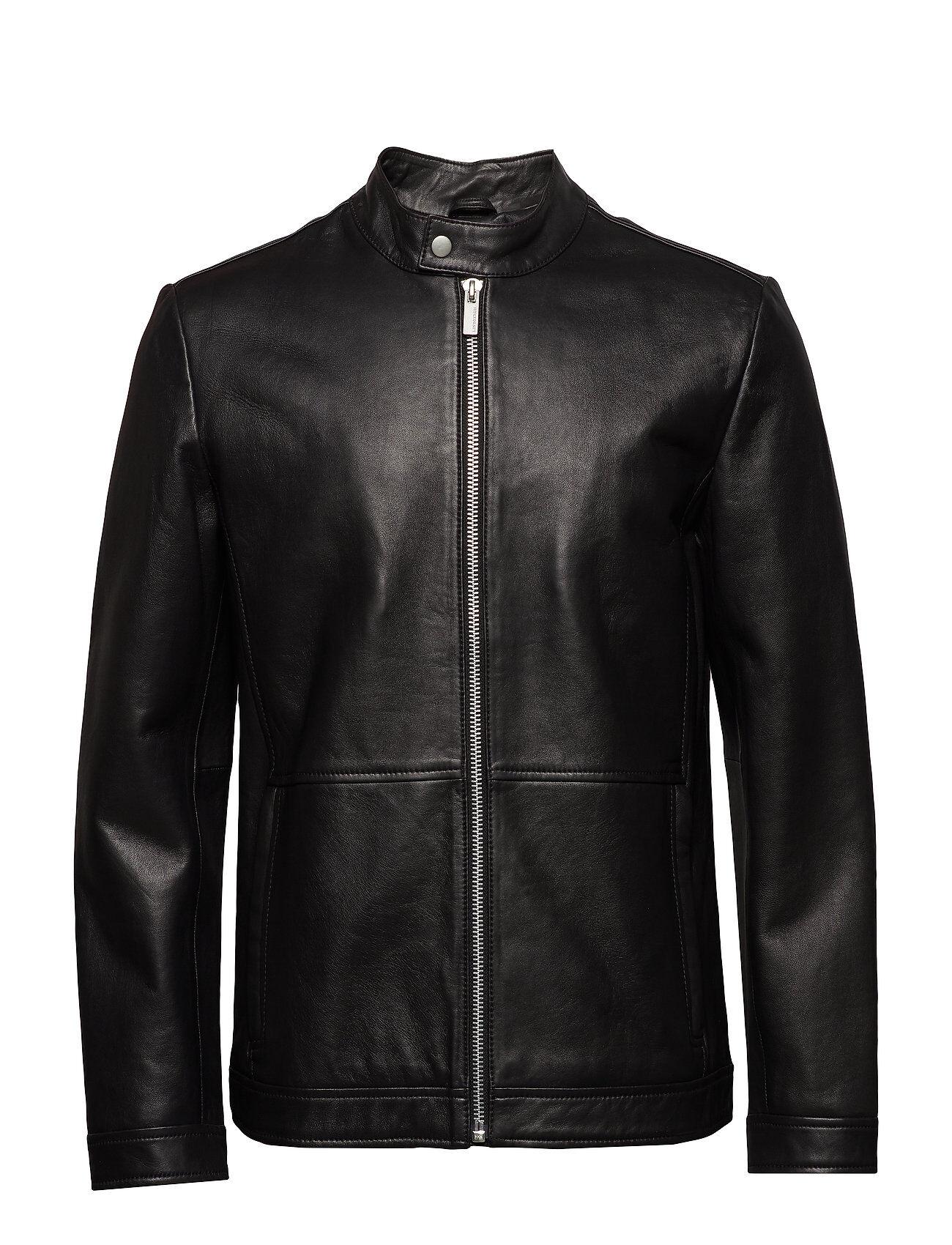 Lindbergh Bonded Leather Jacket