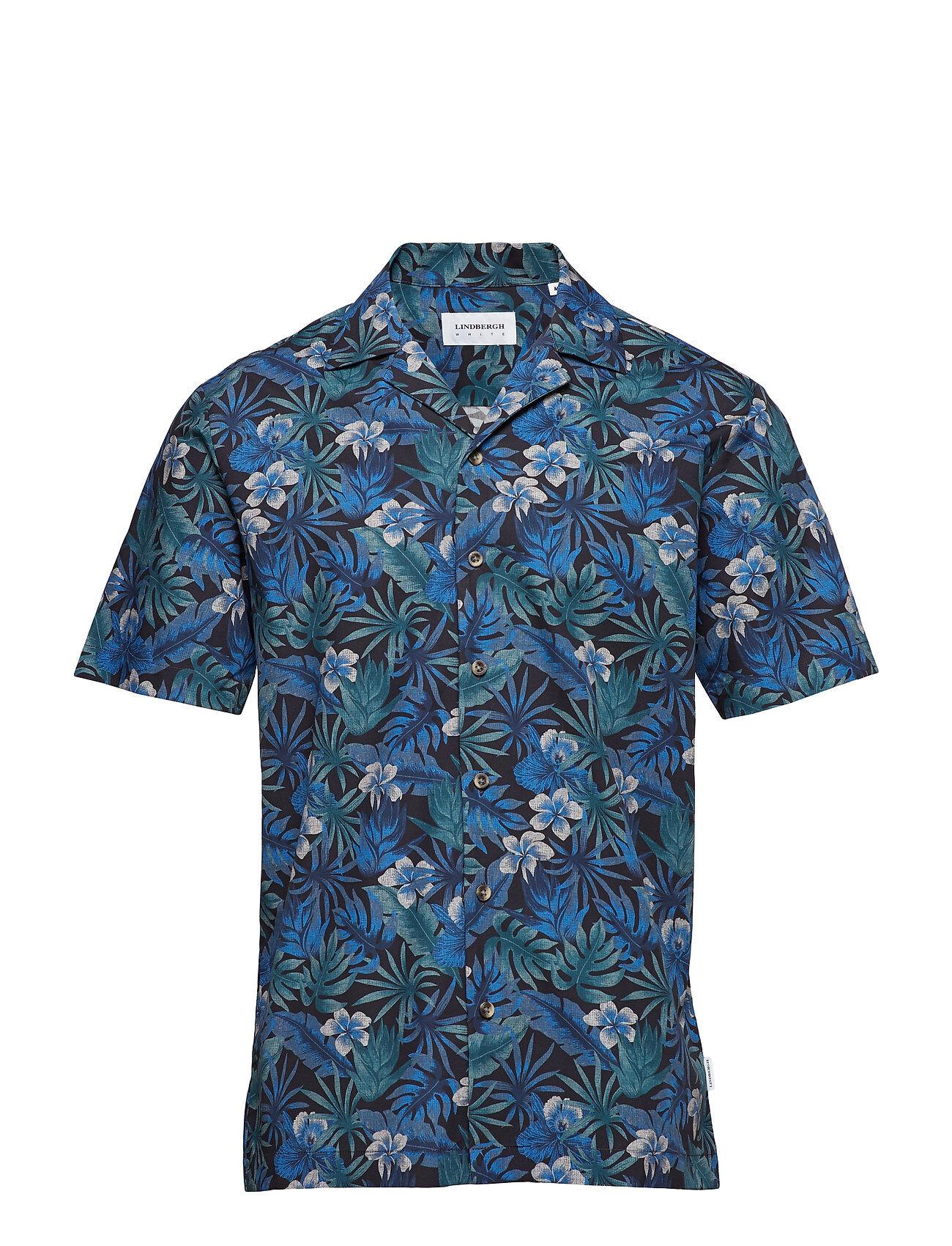 Lindbergh Printed Resort Shirt S/S