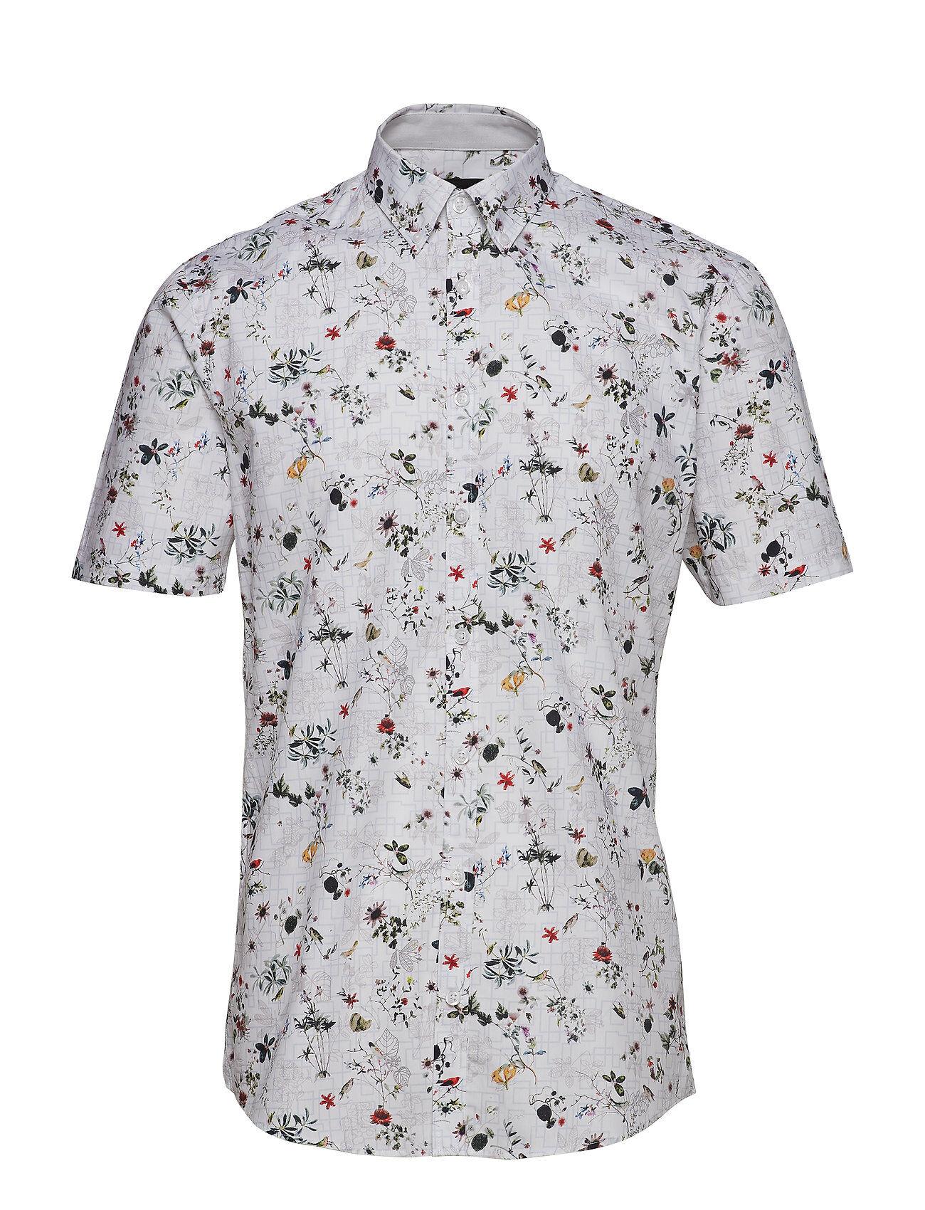 Lindbergh Floral Cotton Shirt S/S