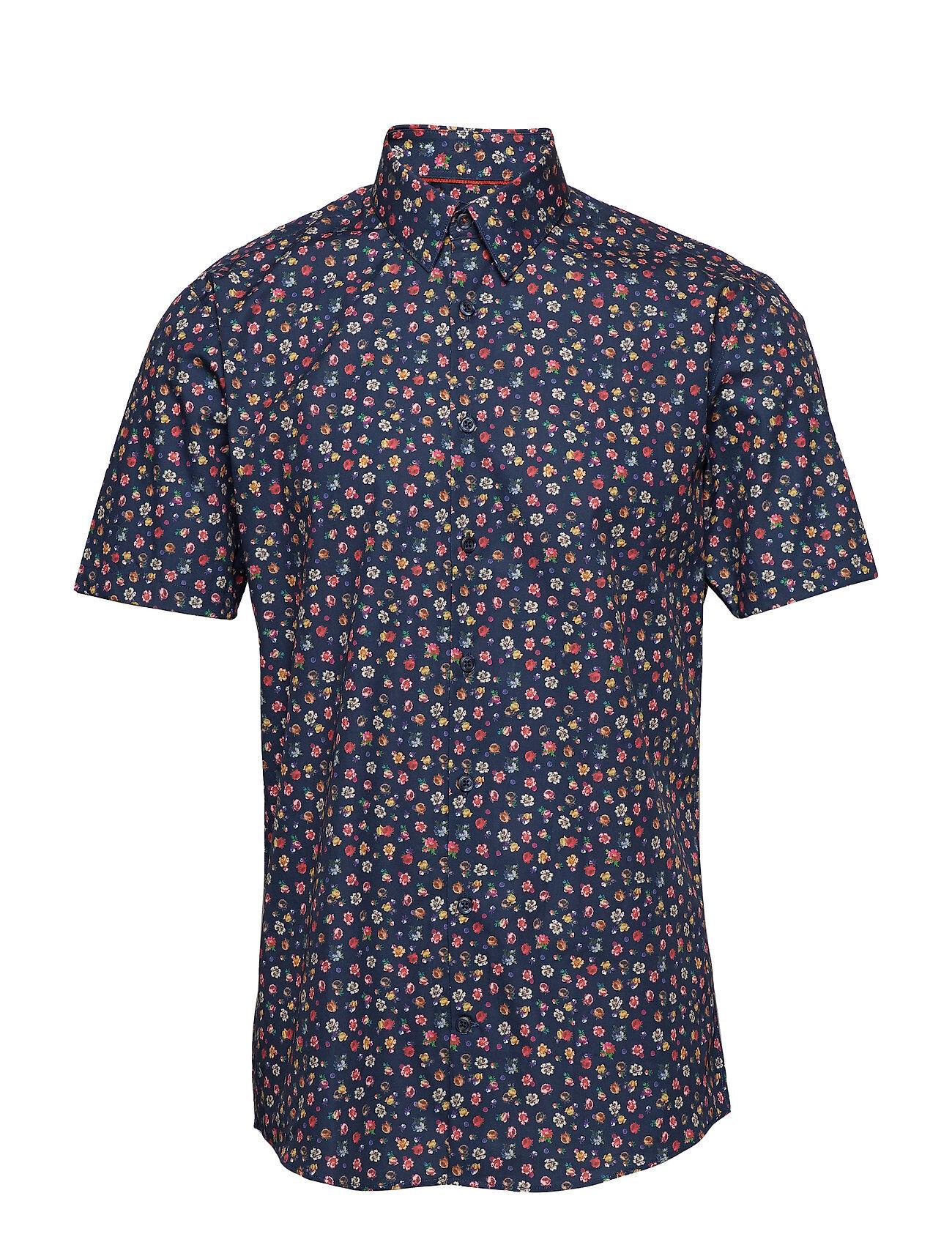 Lindbergh Mini Floral Aop Shirt S/S