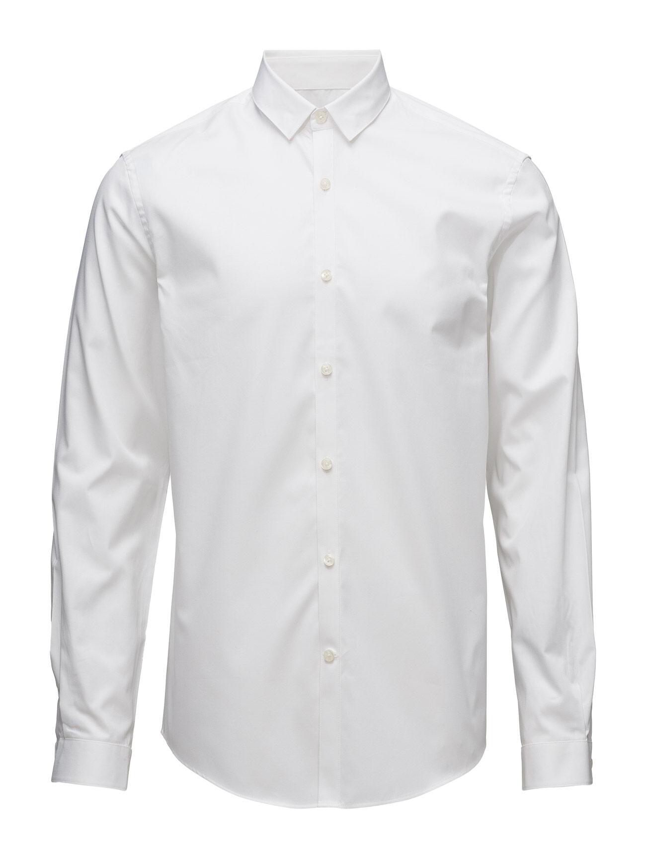 Lindbergh Plain Twill Stretch Shirtl/S
