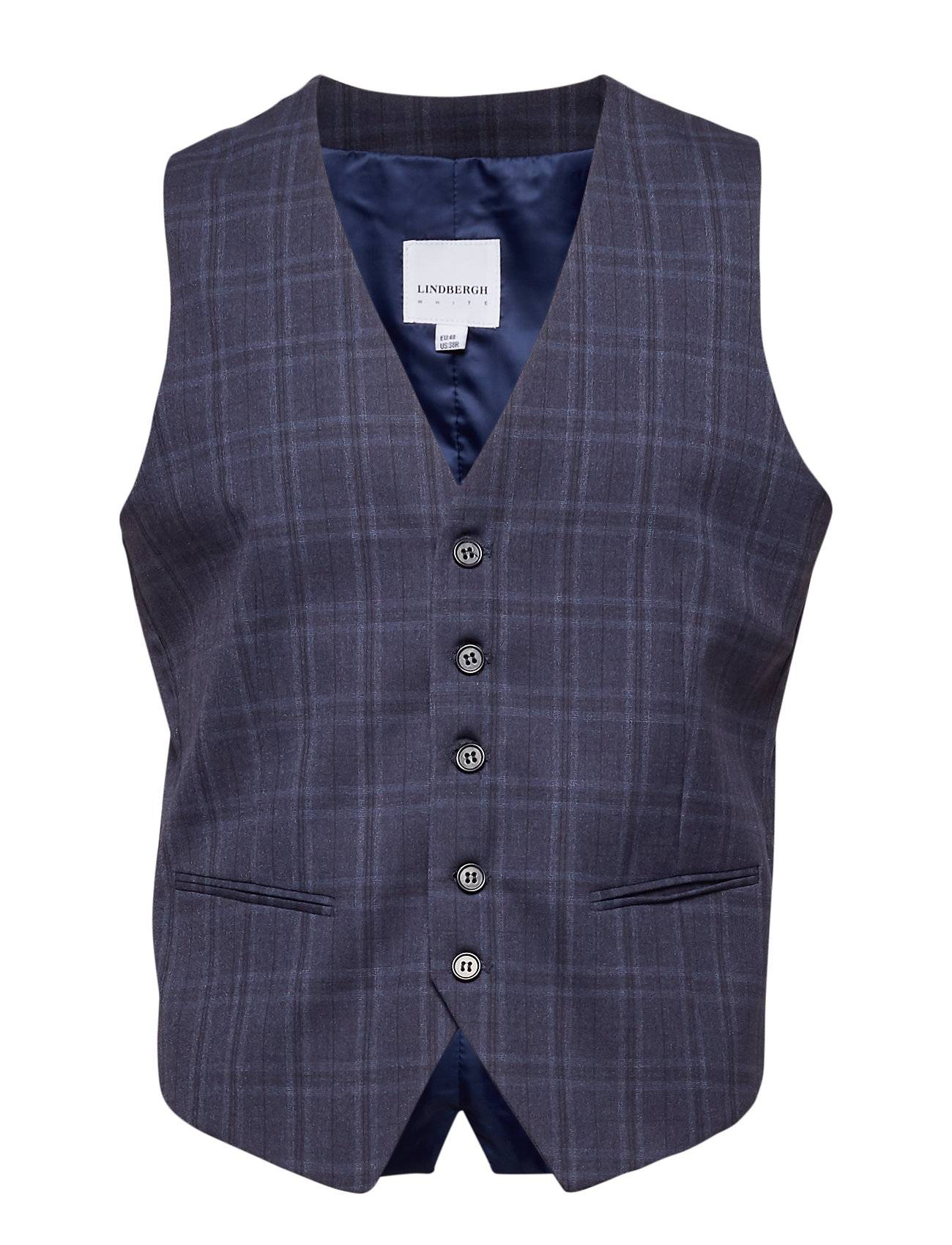 Lindbergh Waist Coat For Checked Suit
