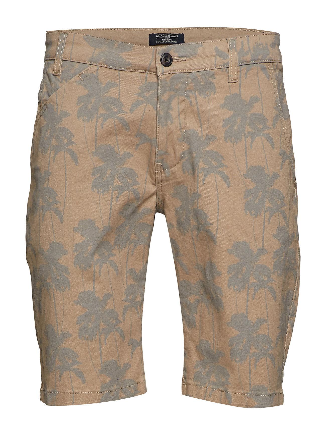 Lindbergh Printed Chino Shorts