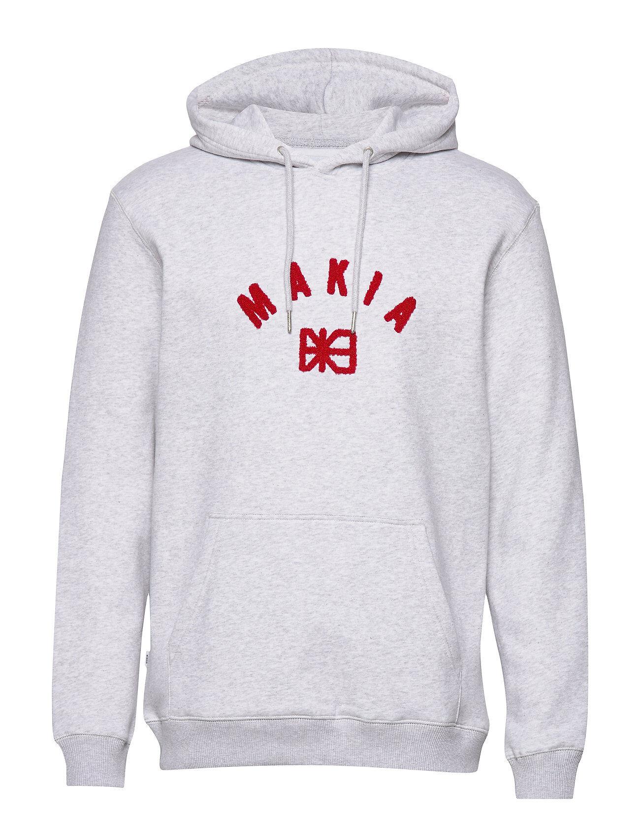 Makia Brand Hooded Sweatshirt Huppari Harmaa