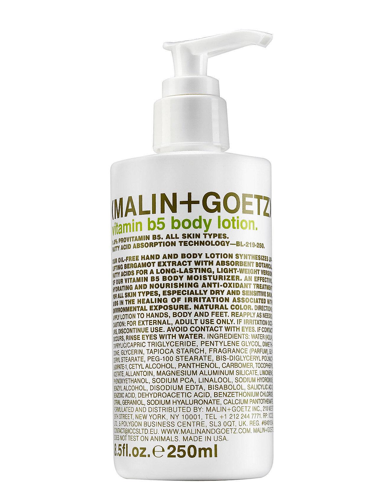 MALIN+GOETZ Vitamin B5 Body Lotion Kosteusvoide Vartalo Nude MALIN+GOETZ