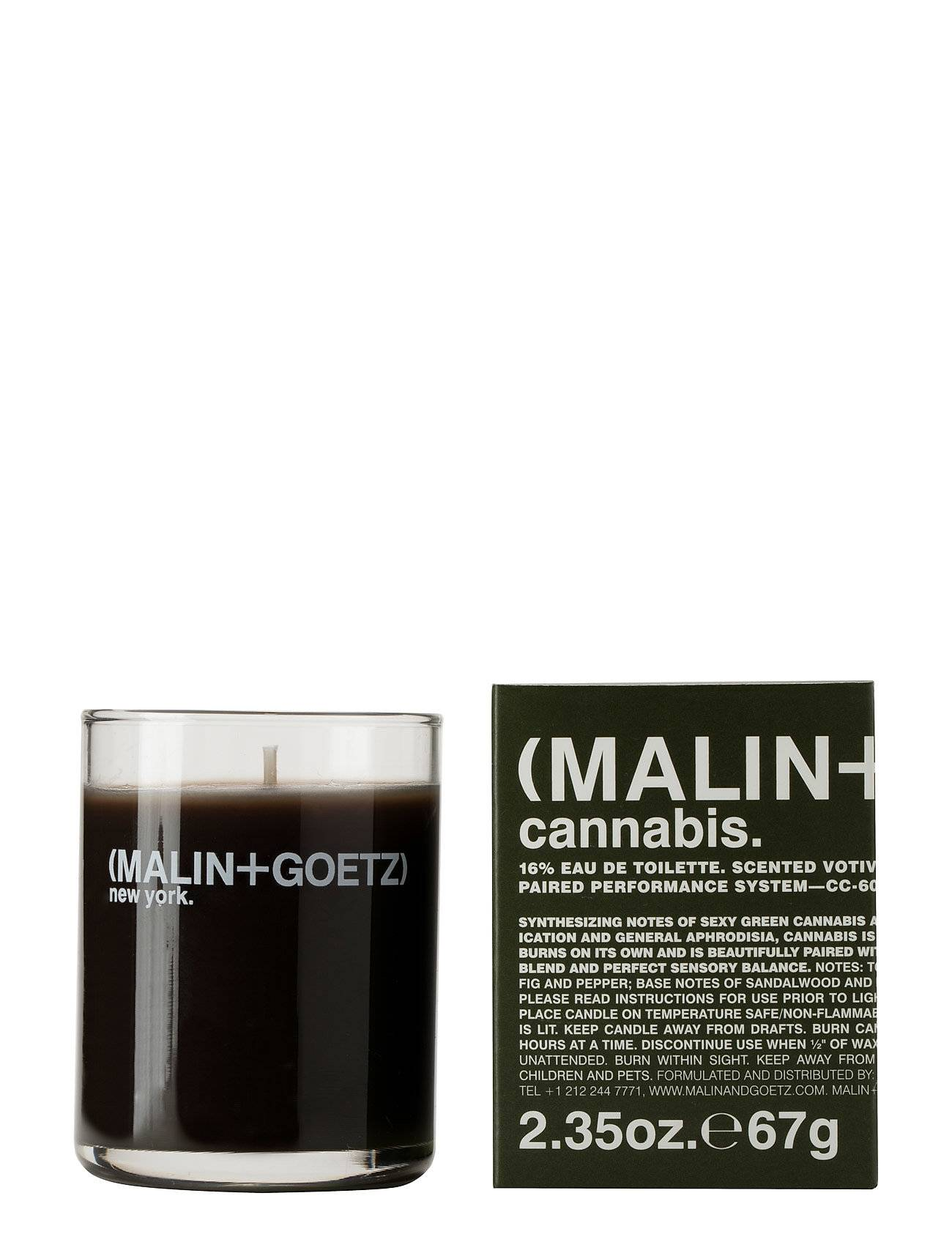 MALIN+GOETZ Cannabis Votive Candle Hajuvesi Parfyymi Nude MALIN+GOETZ