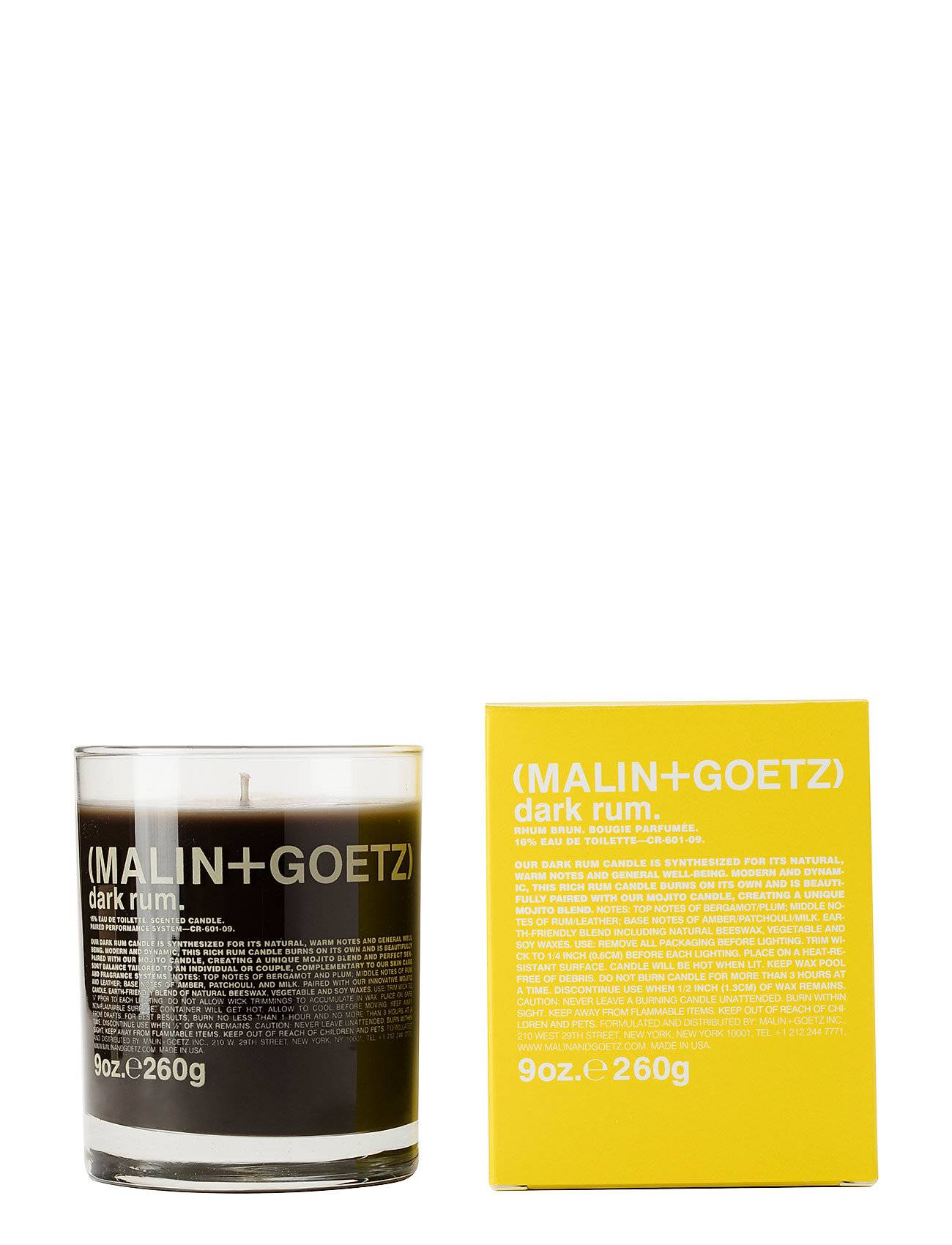 MALIN+GOETZ Dark Rum Candle Hajuvesi Parfyymi Nude MALIN+GOETZ