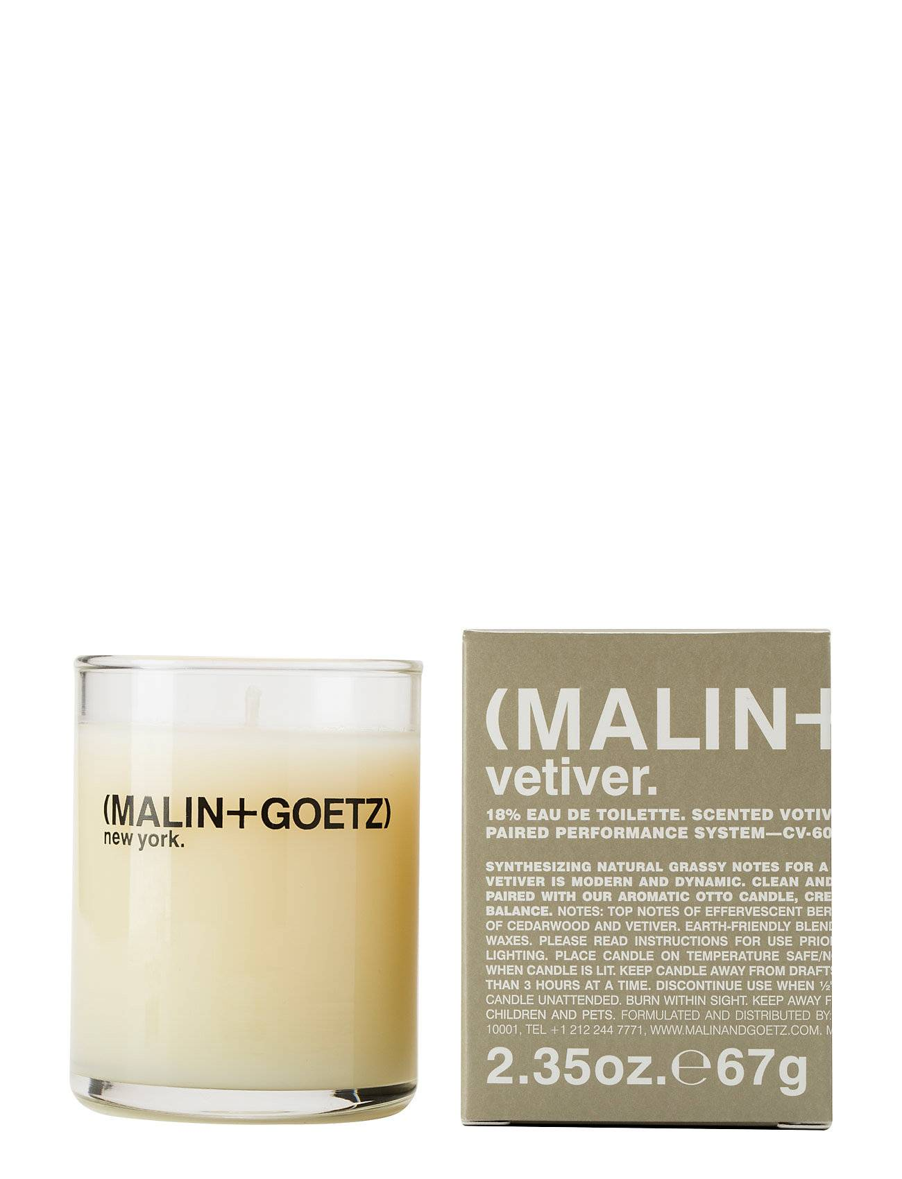 Malin+Goetz Vetiver Votive Candle