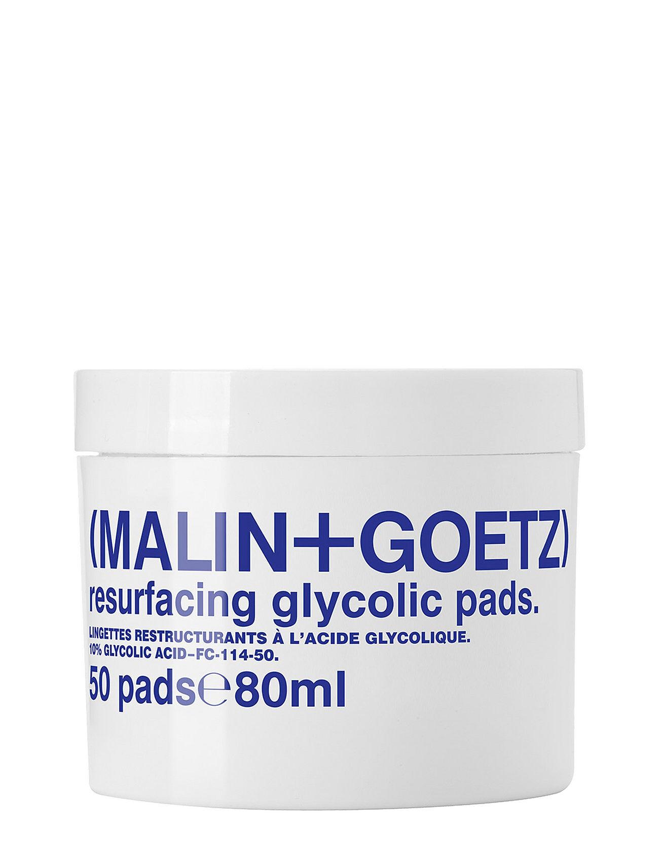 MALIN+GOETZ Resurfacing Glycolic Pads Kasvojen Ihonhoito Nude MALIN+GOETZ