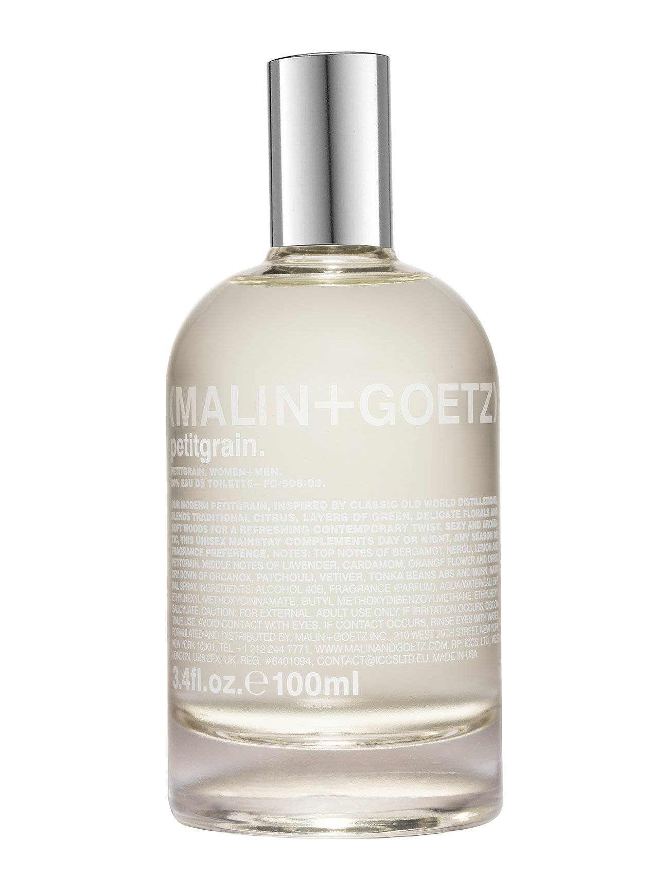 MALIN+GOETZ Petitgrain Eau De Toilette Hajuvesi Eau De Parfum Nude MALIN+GOETZ