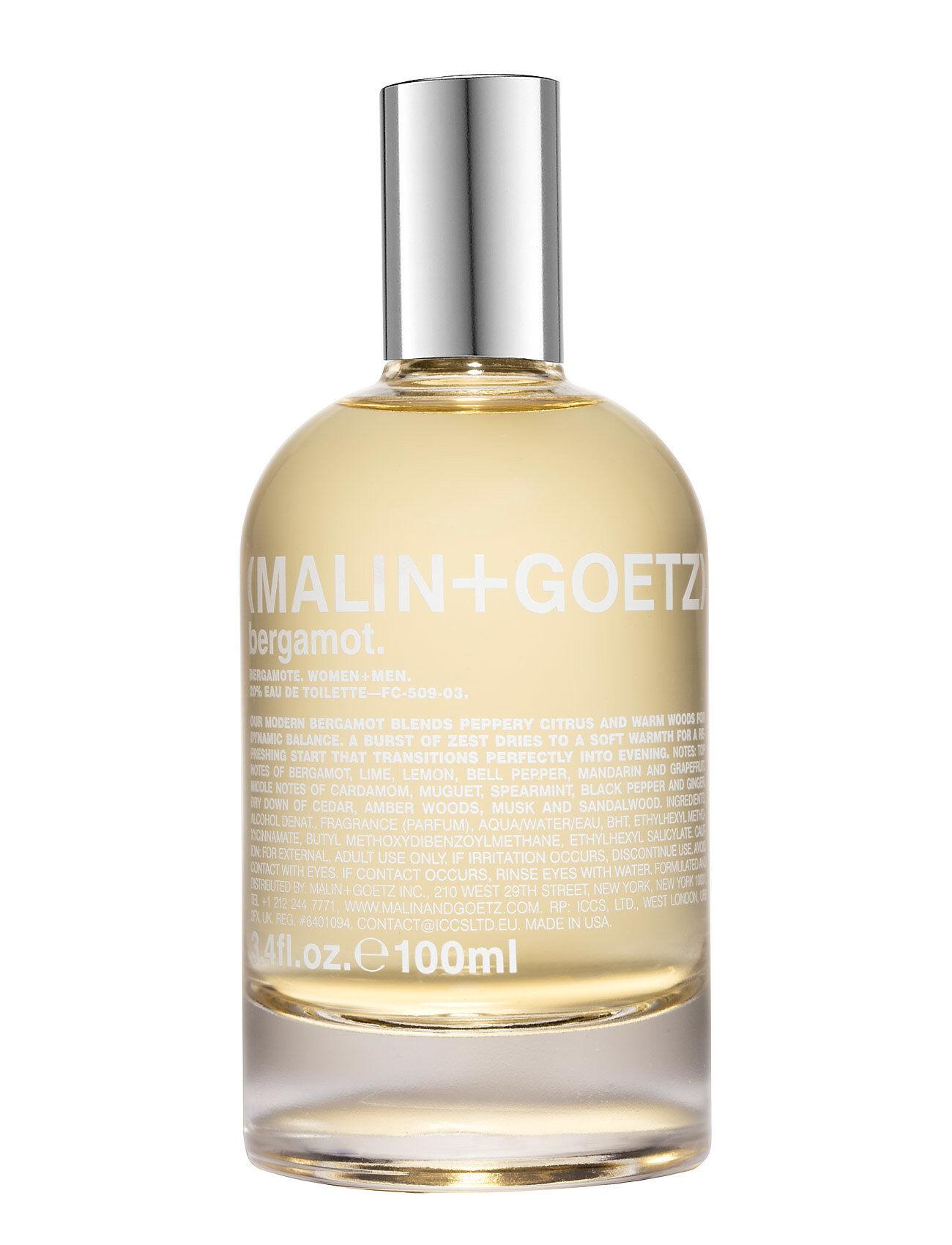 MALIN+GOETZ Bergamot Eau De Toilette Hajuvesi Eau De Parfum Nude MALIN+GOETZ
