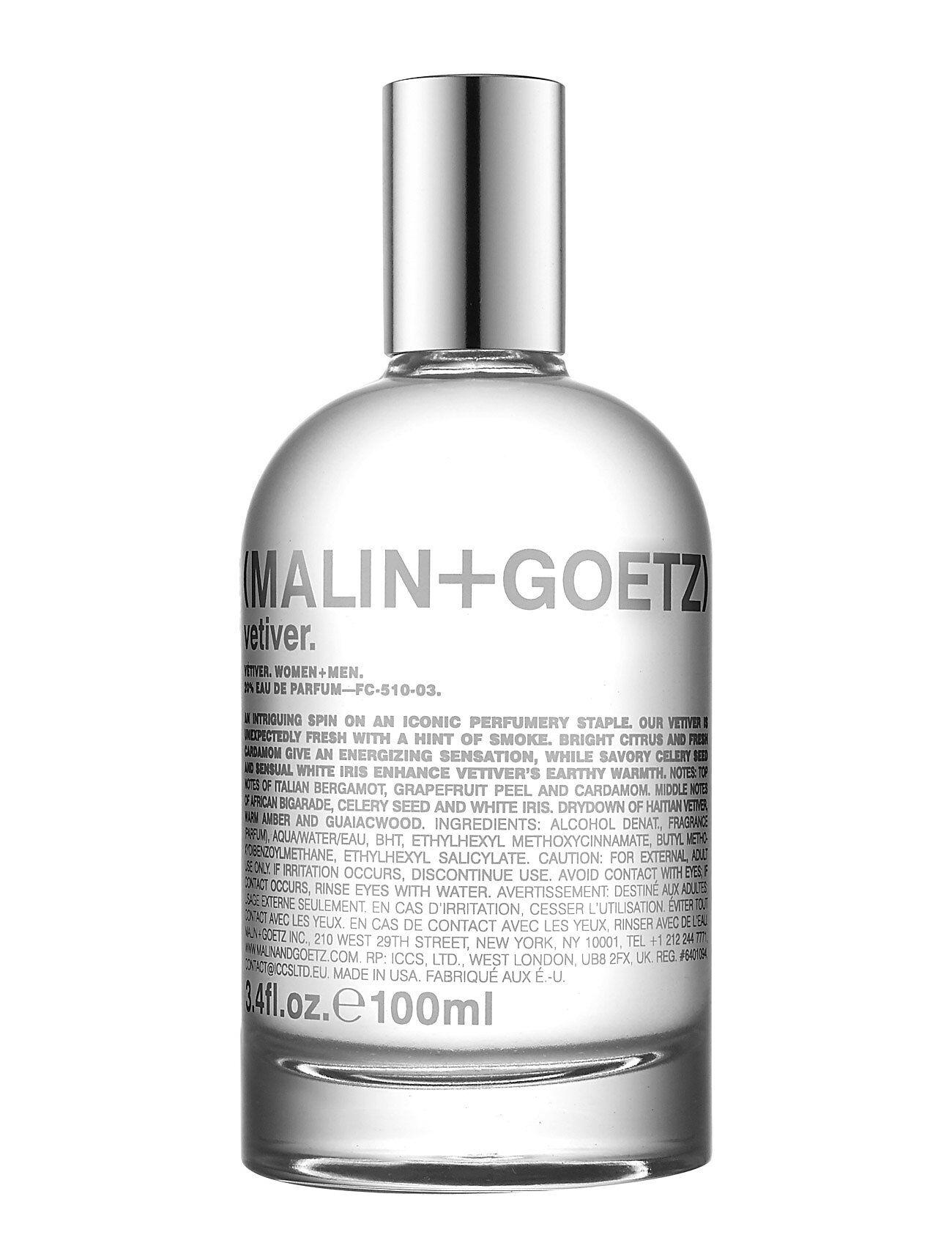 MALIN+GOETZ Vetiver Eau De Parfume Hajuvesi Eau De Parfum Nude MALIN+GOETZ