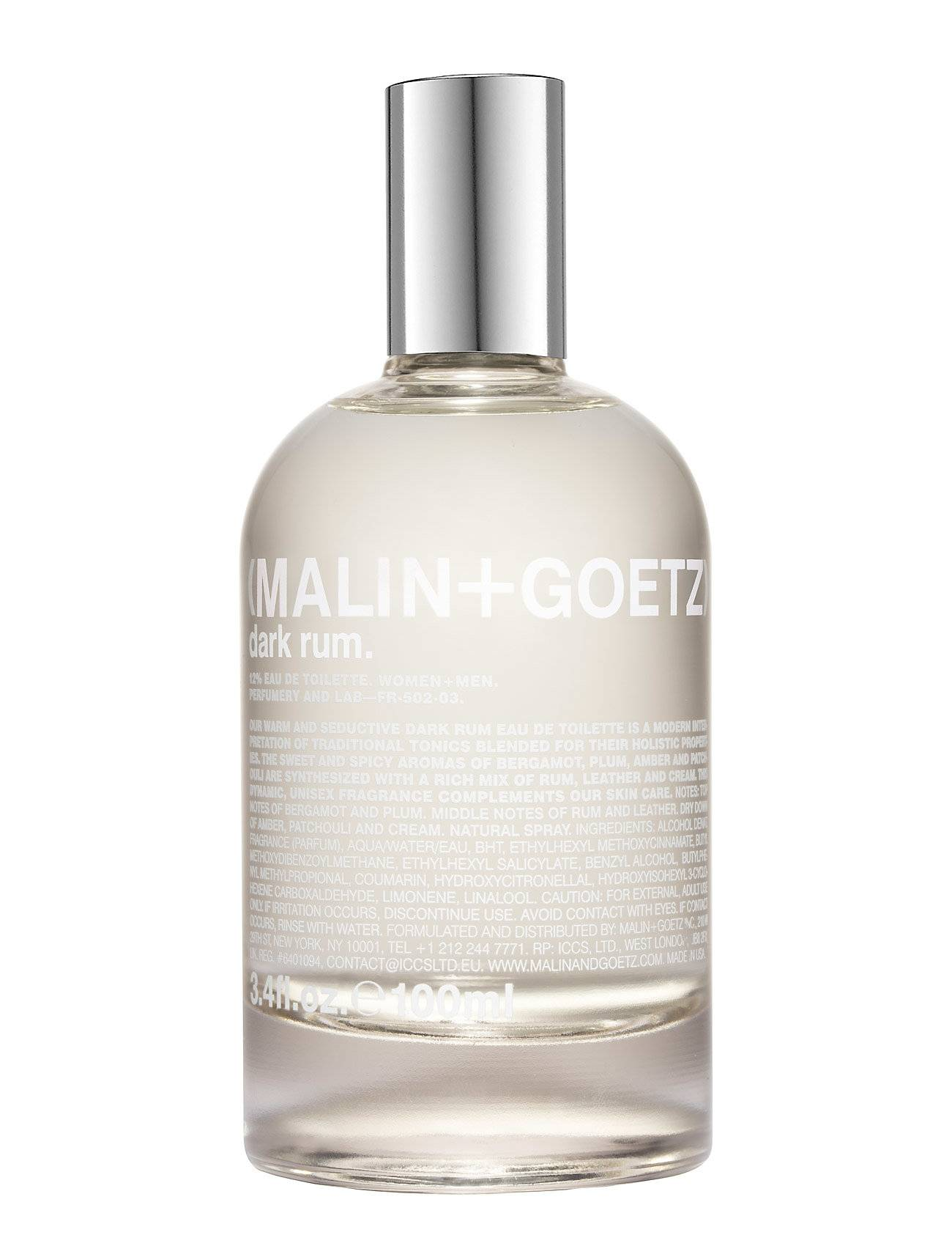MALIN+GOETZ Dark Rum Eau De Toilette Hajuvesi Eau De Parfum Nude MALIN+GOETZ