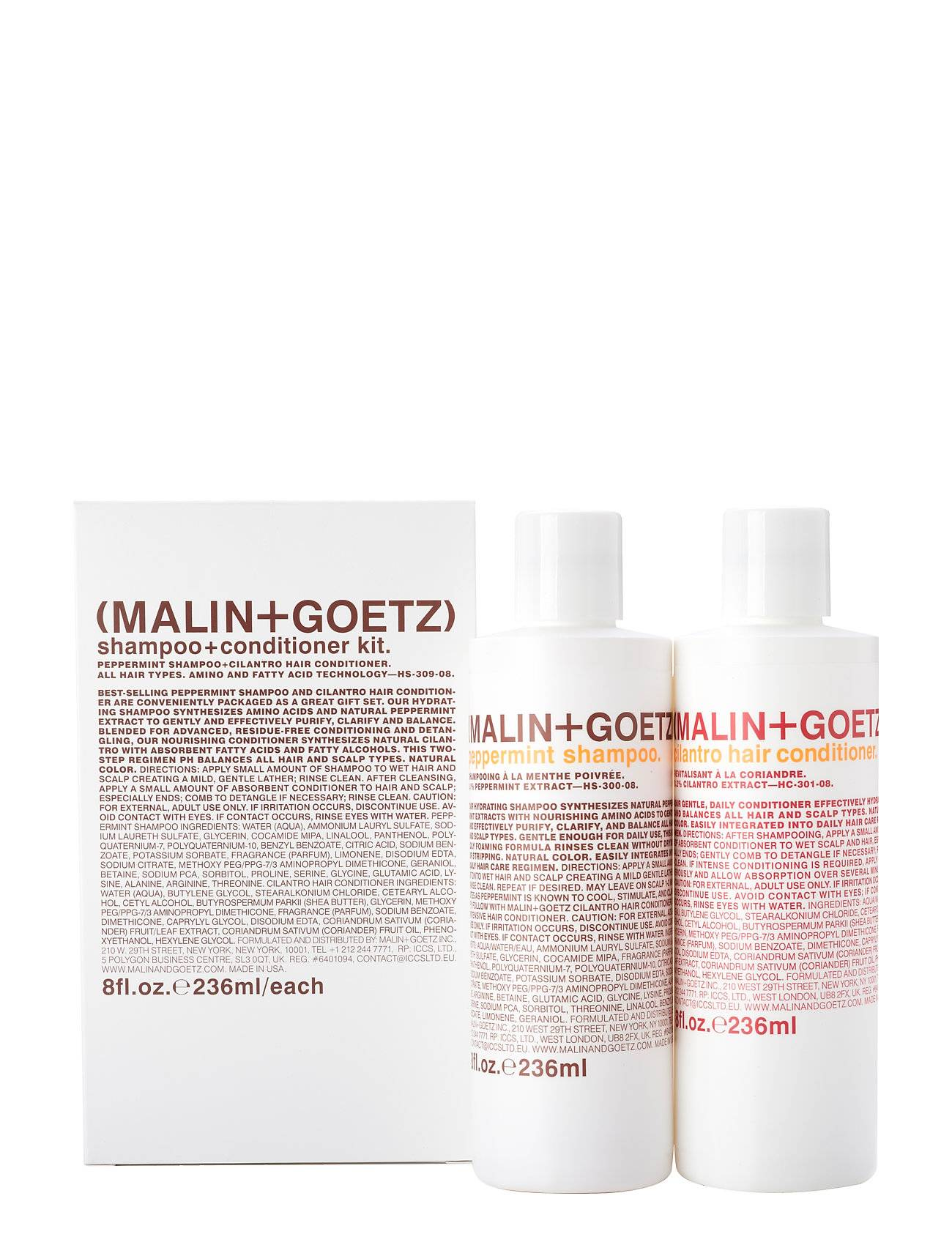 Malin+Goetz Shampoo & Conditioner Kit