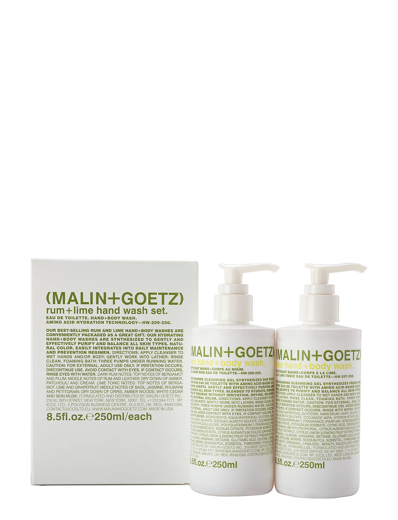 Malin+Goetz Rum+ Lime Hand Wash Set
