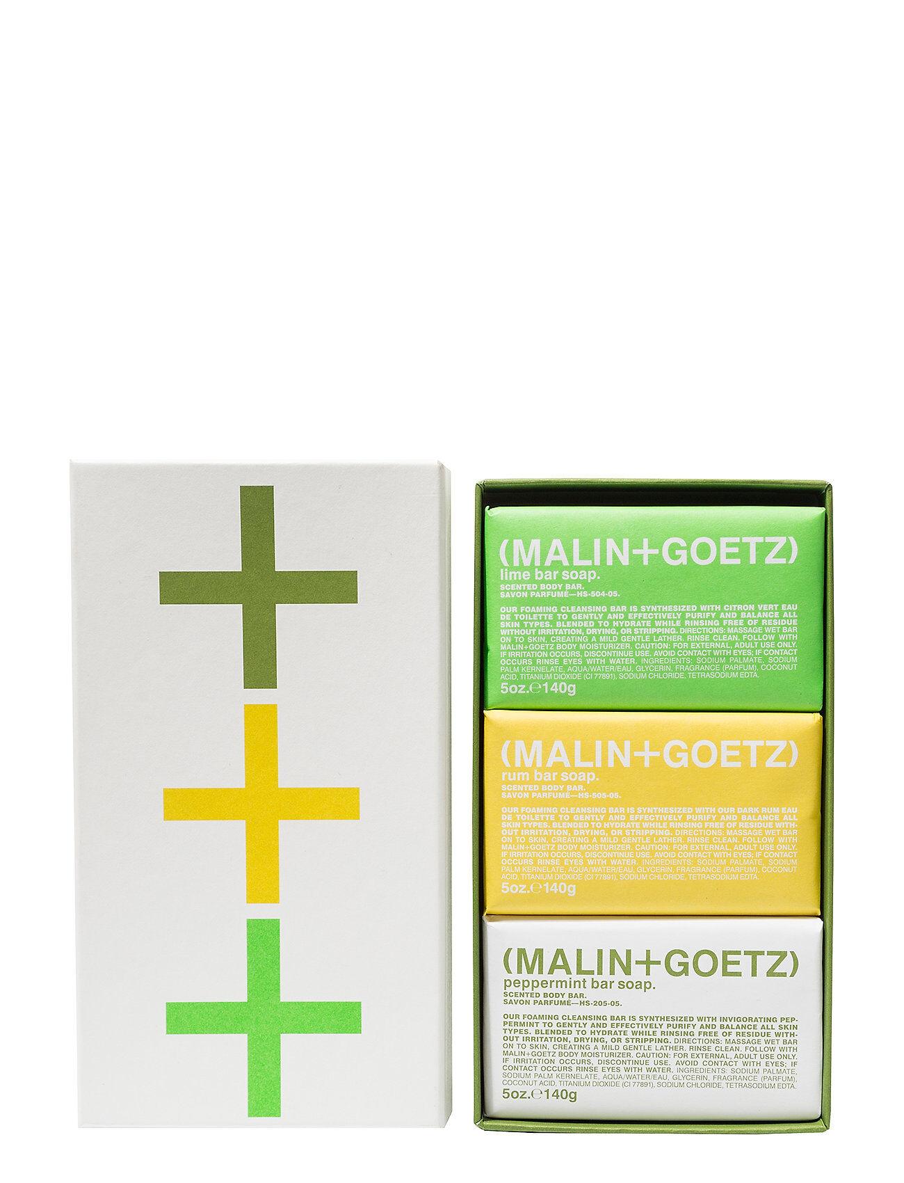 MALIN+GOETZ Mojito Soap Set Suihkugeeli Nude MALIN+GOETZ