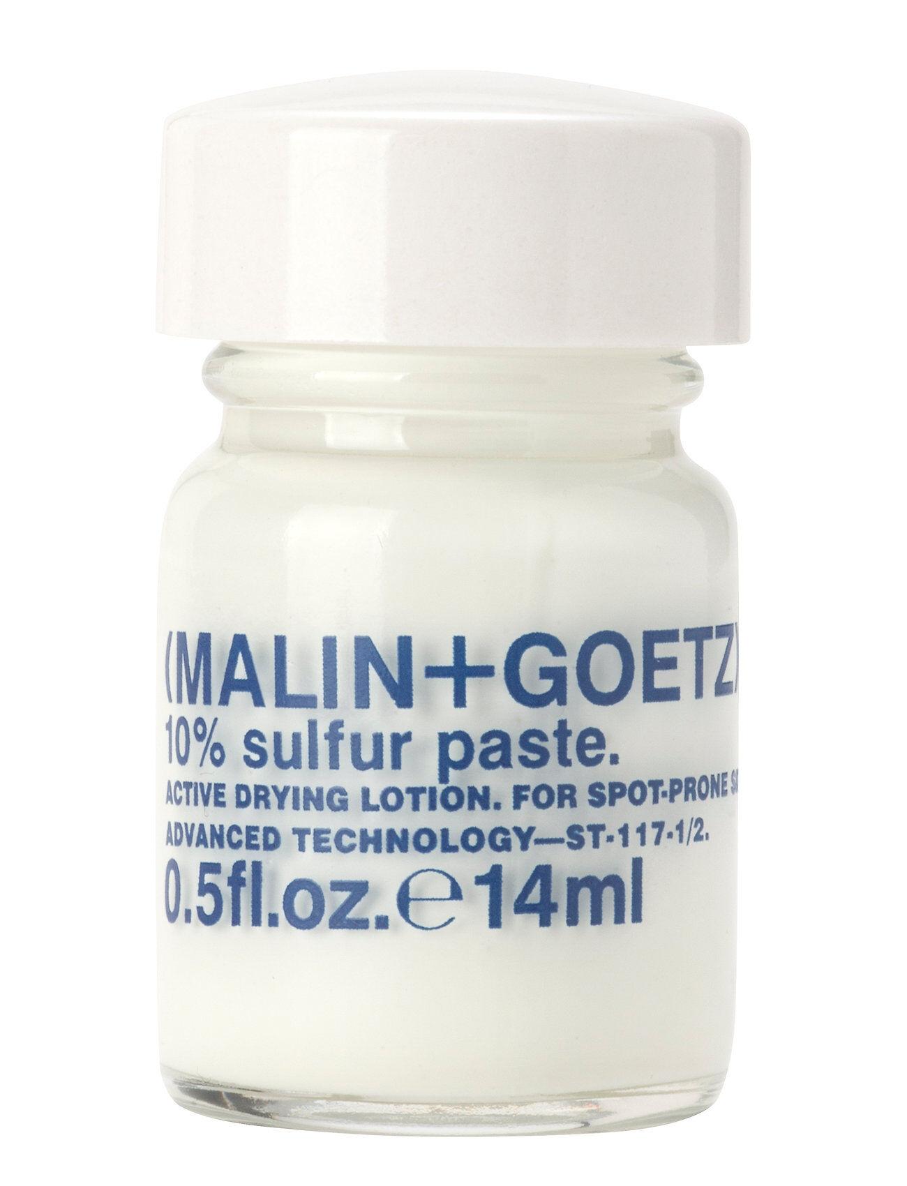 MALIN+GOETZ 10% Sulfur Past Kasvojen Ihonhoito Valkoinen MALIN+GOETZ
