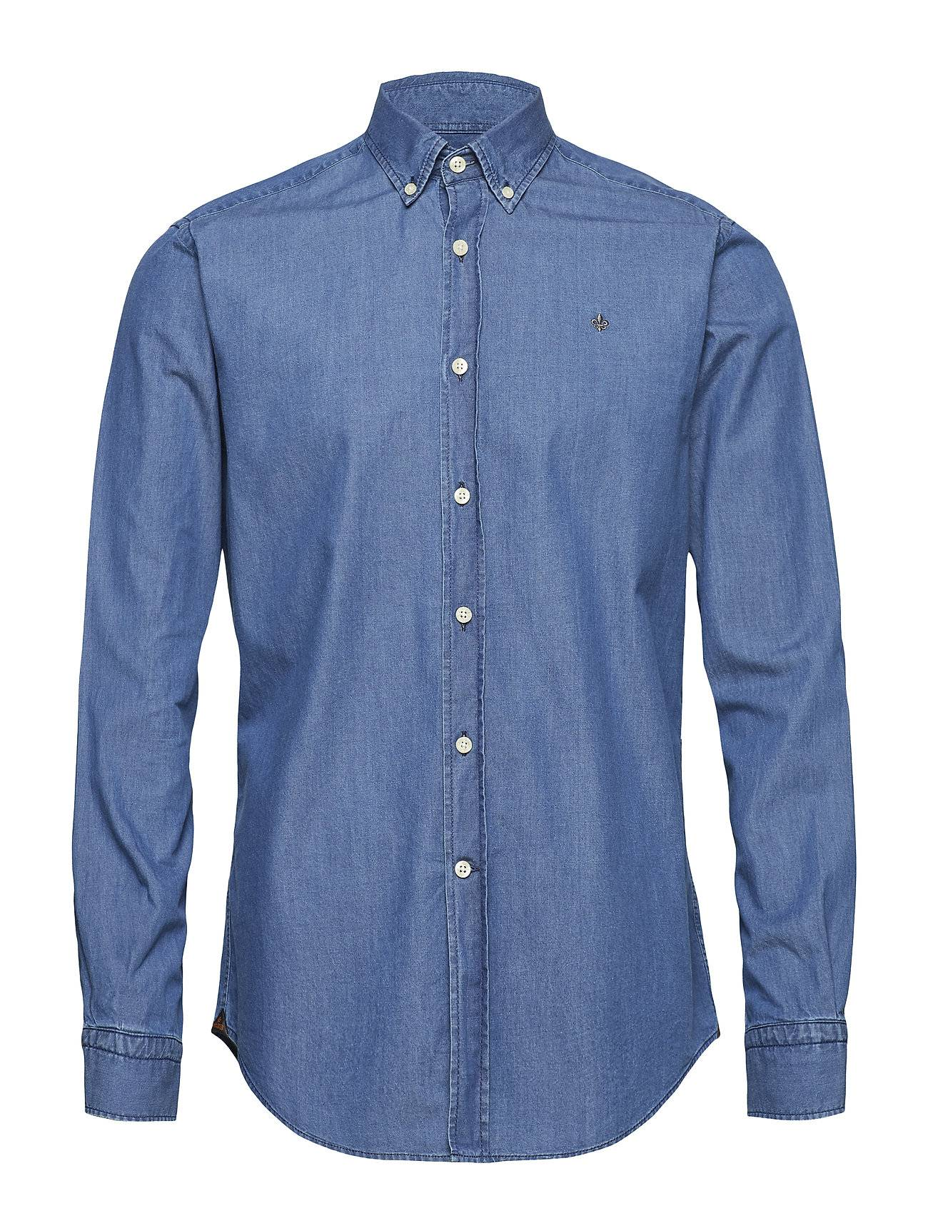 Morris Julian Button Down Denim Shirt