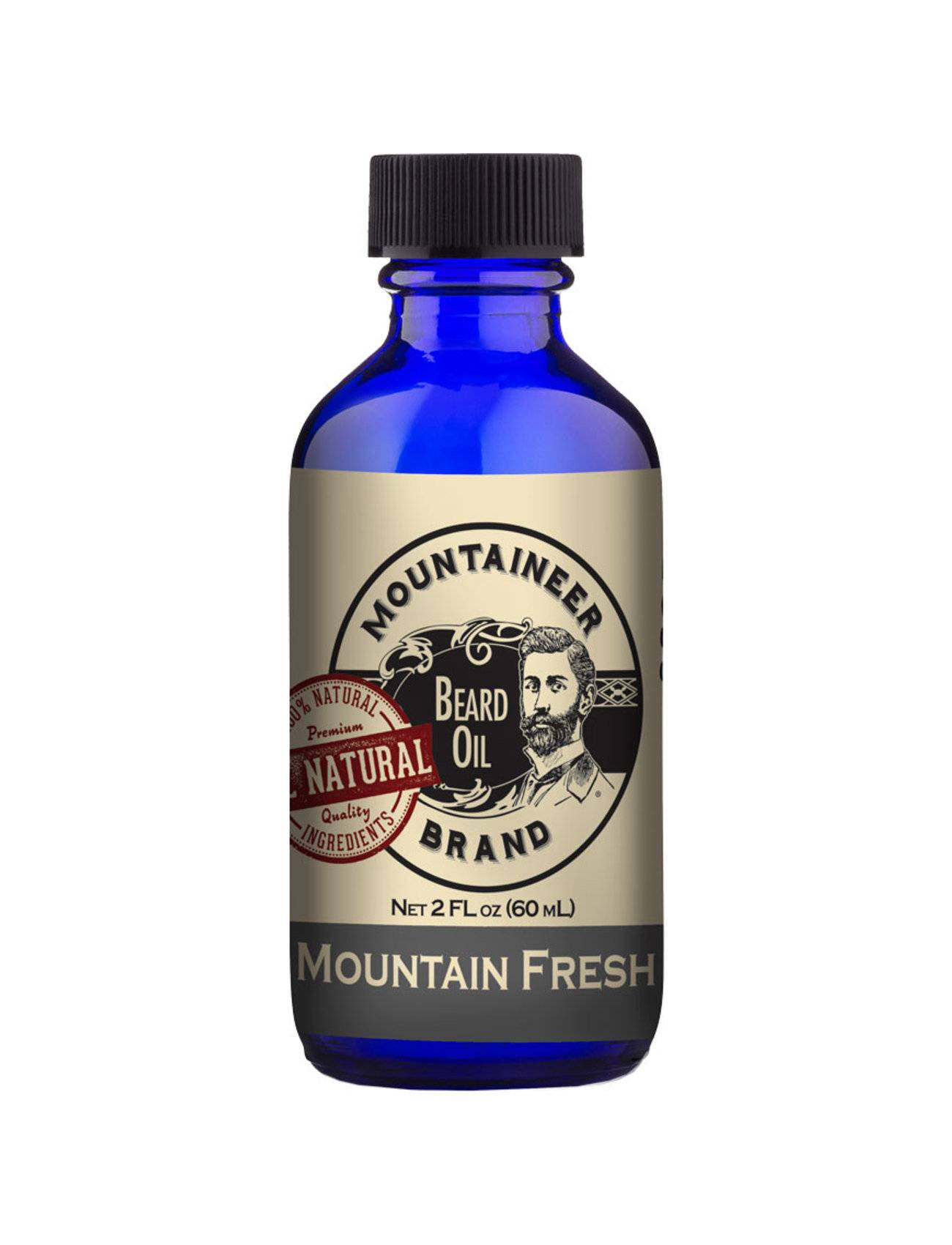 Mountaineer Brand Coal Beard Oil