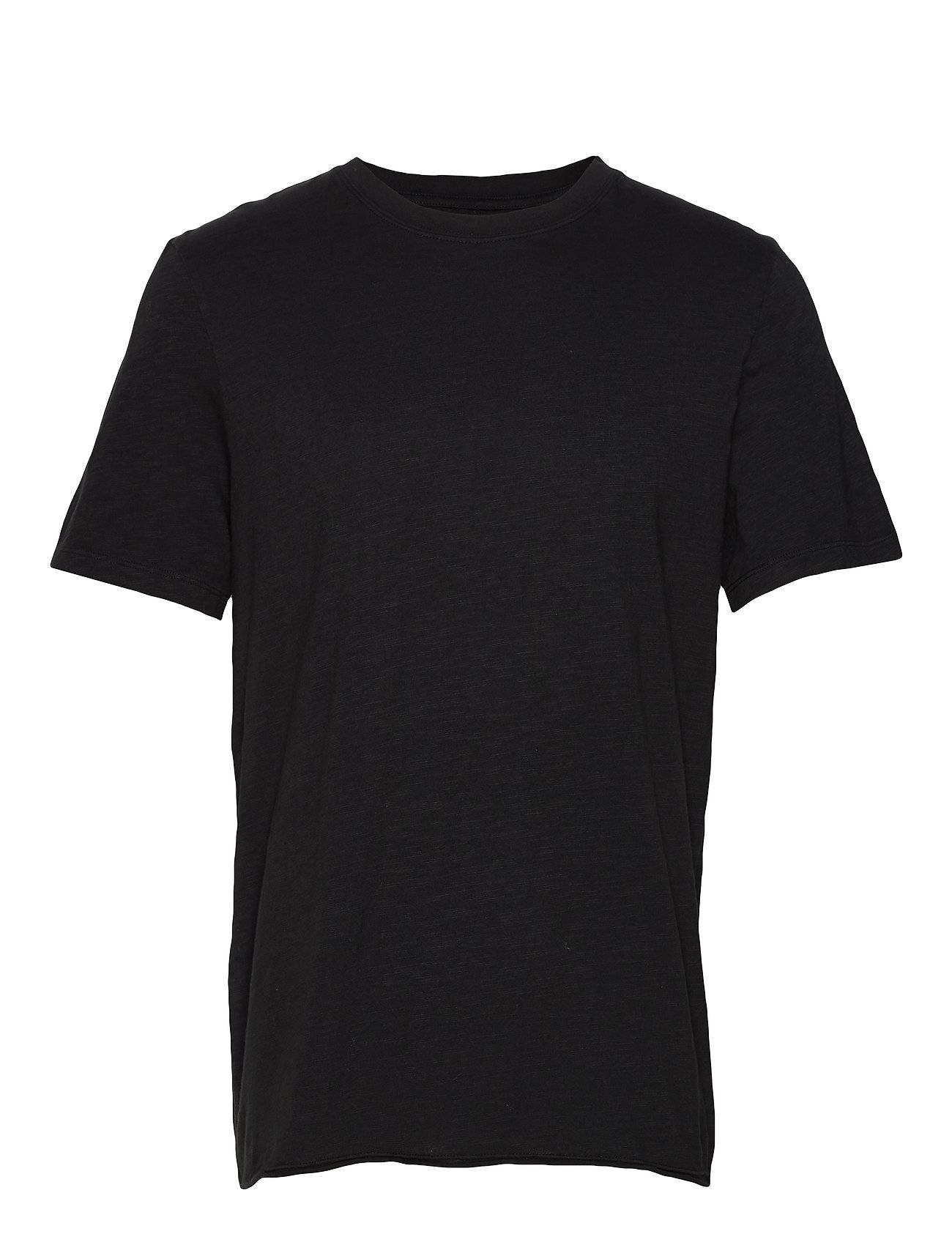 NEUW Bass Slub Tee T-shirts Short-sleeved Musta