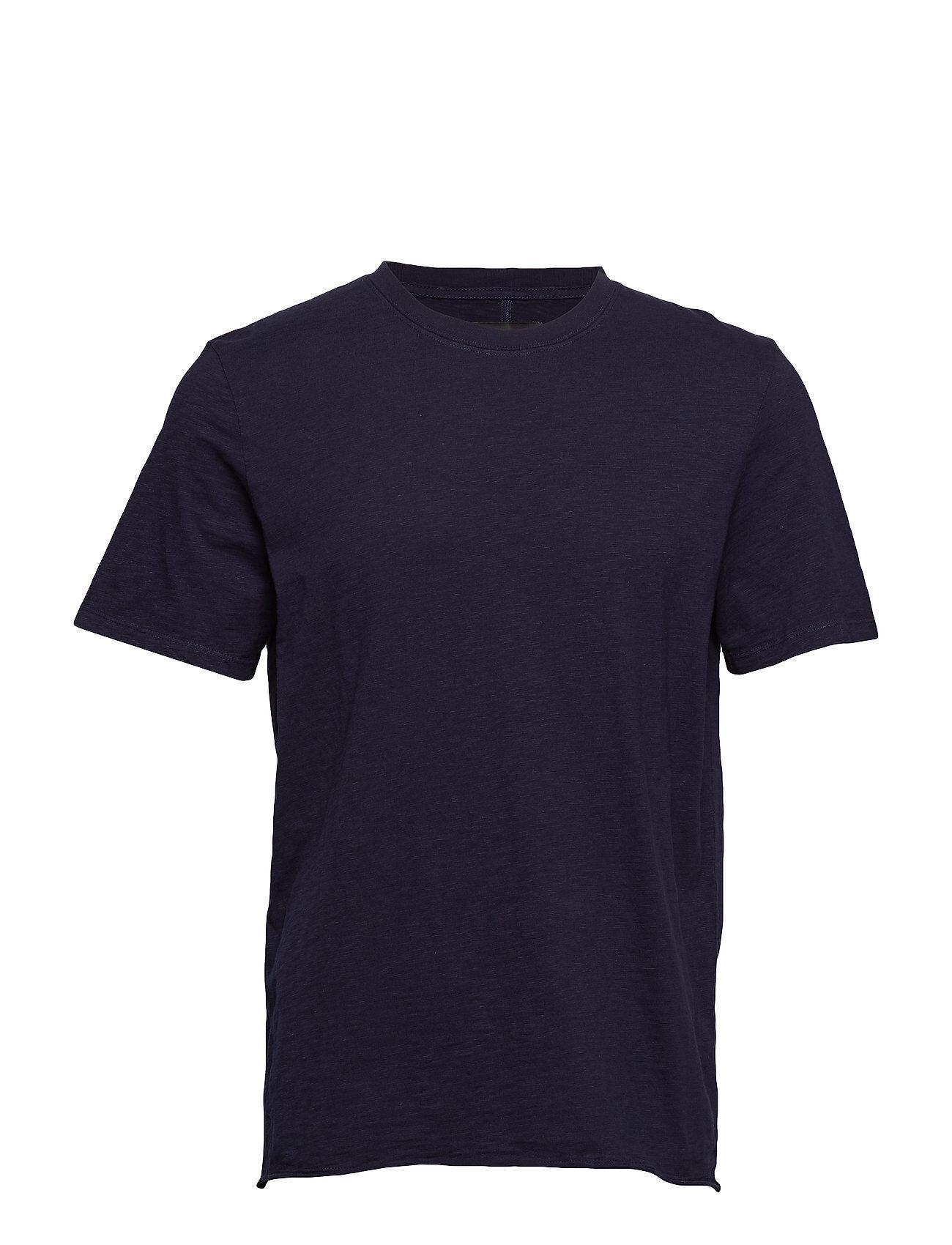 NEUW Bass Slub Tee T-shirts Short-sleeved Sininen