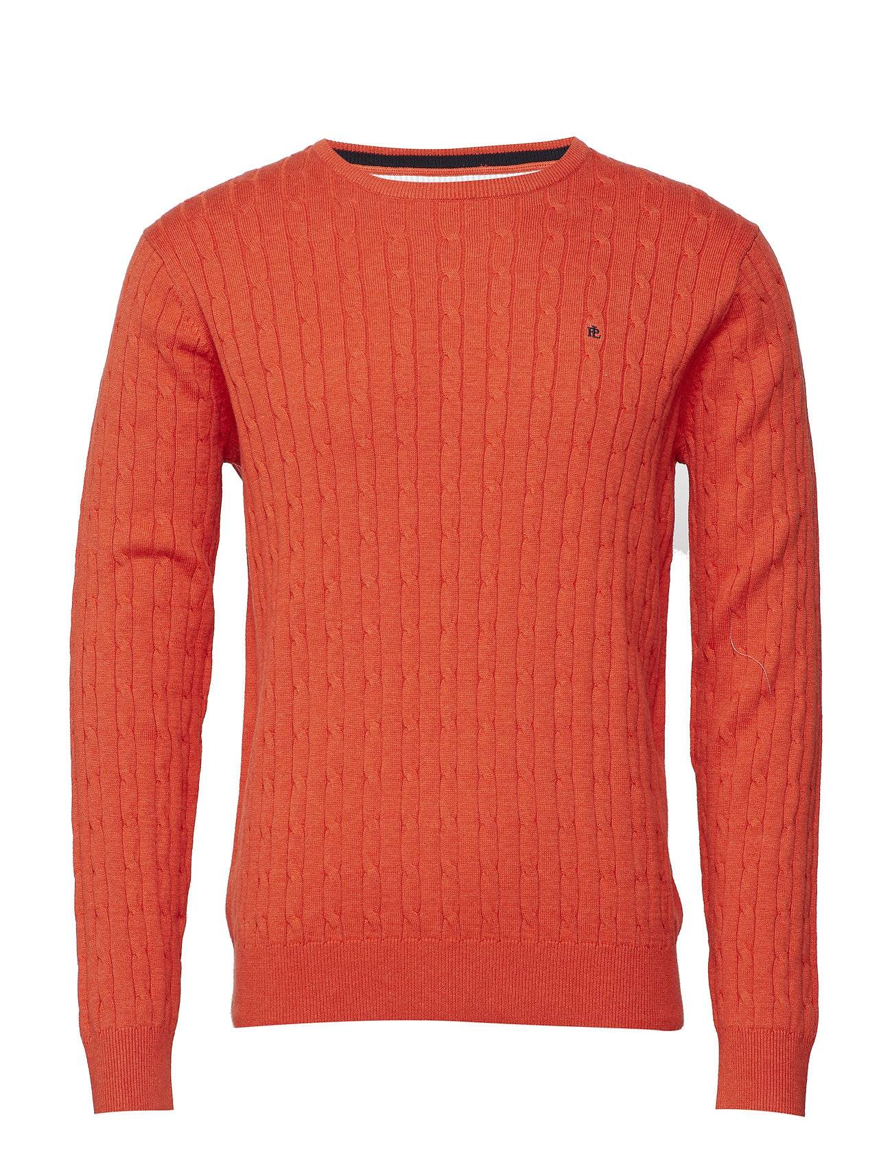 Park Lane Cable Pullover R-Neck