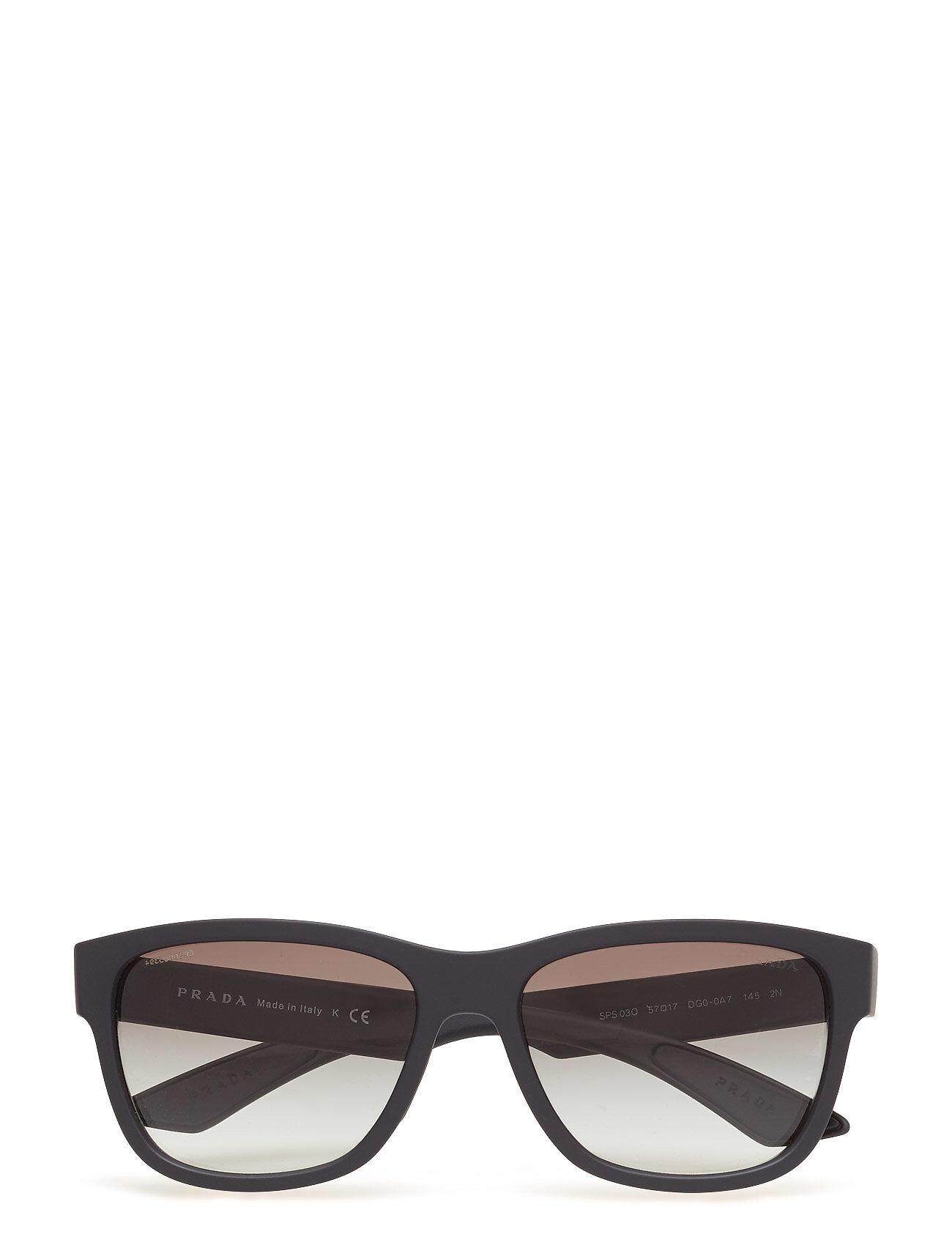 Image of Prada Sport Sunglasses 0ps 03qs Wayfarer Aurinkolasit Musta Prada Sport Sunglasses