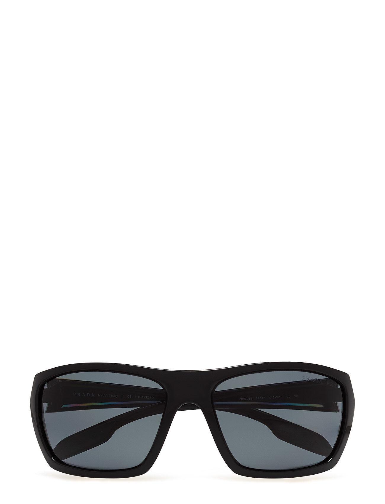 Image of Prada Sport Sunglasses 0ps 06ss Aurinkolasit Musta Prada Sport Sunglasses