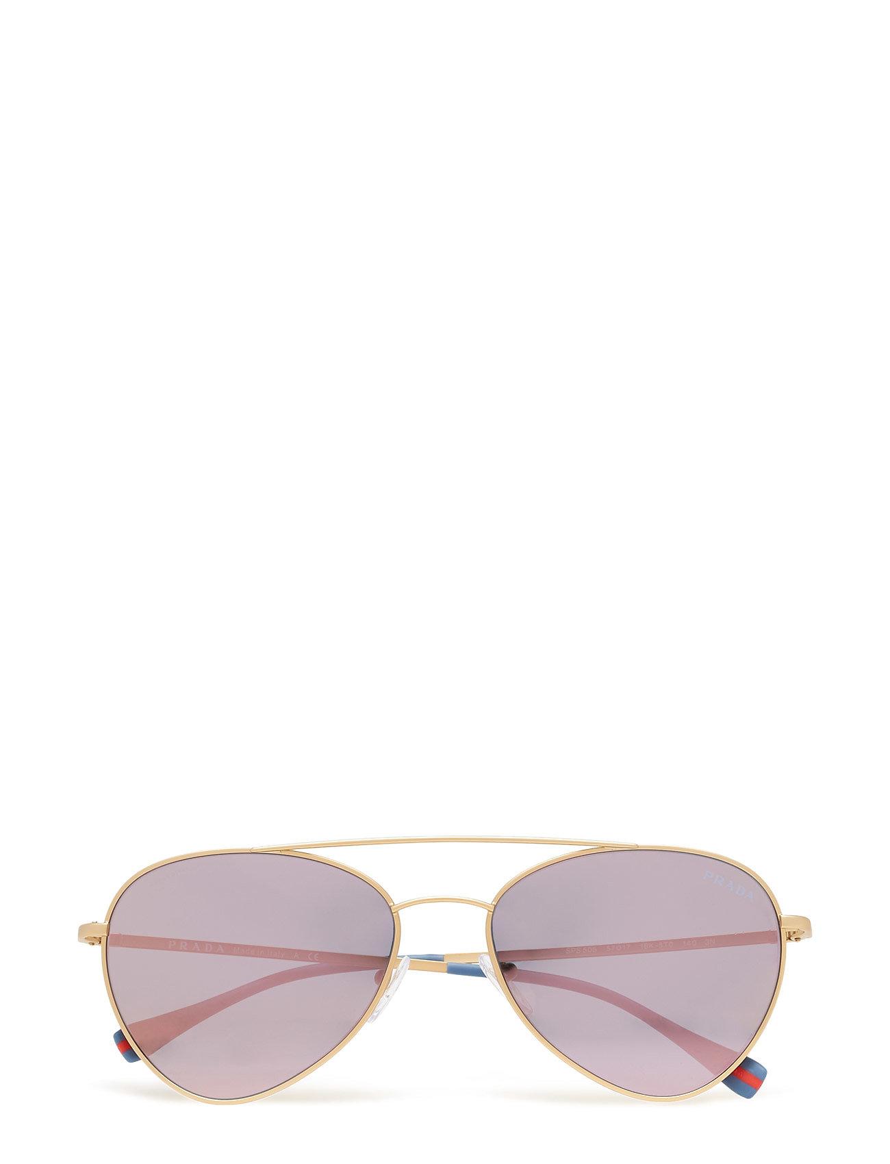 Image of Prada Sport Sunglasses Lifestyle Pilottilasit Aurinkolasit Vaaleanpunainen Prada Sport Sunglasses