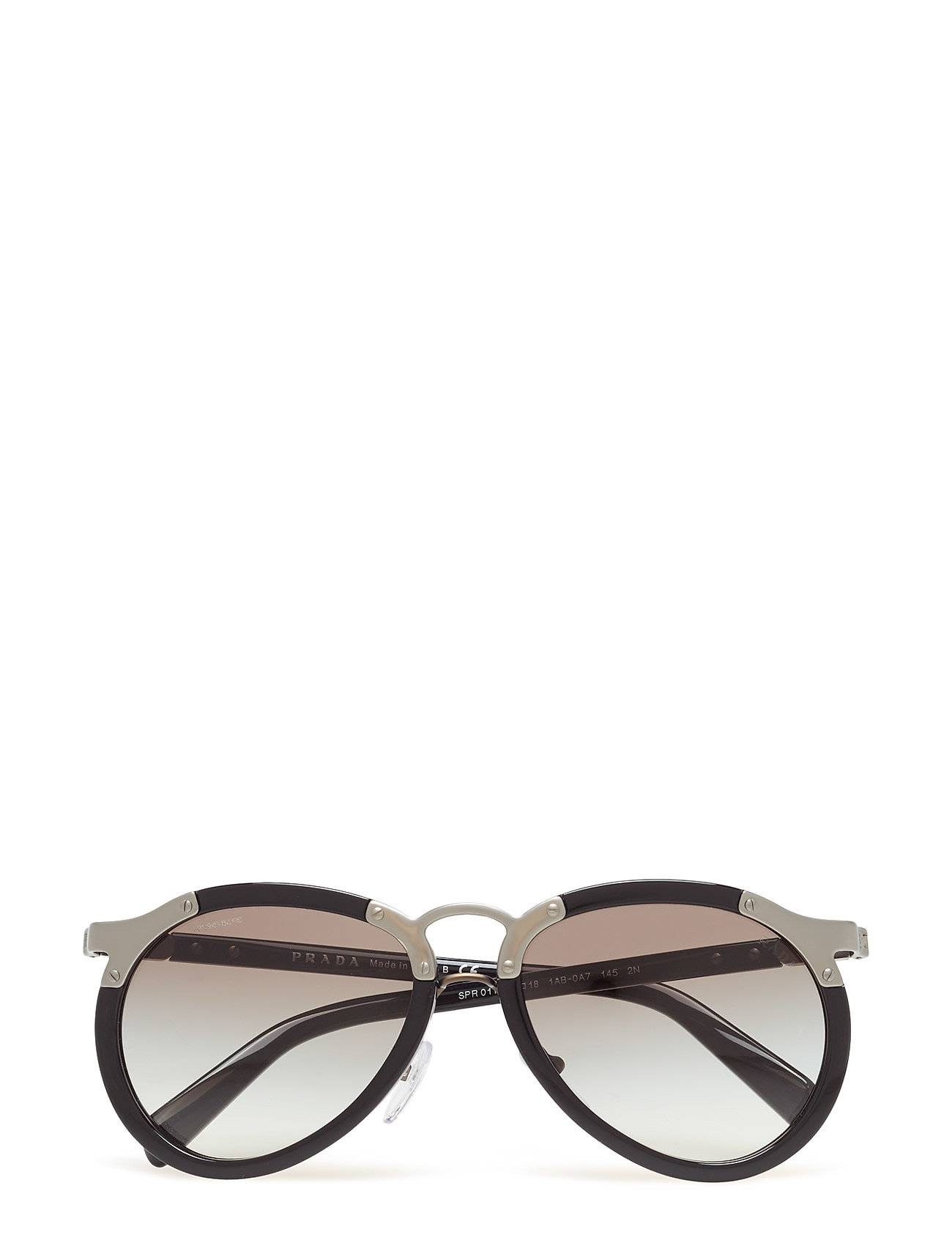 Image of Prada Sunglasses Catwalk Pilottilasit Aurinkolasit Musta Prada Sunglasses