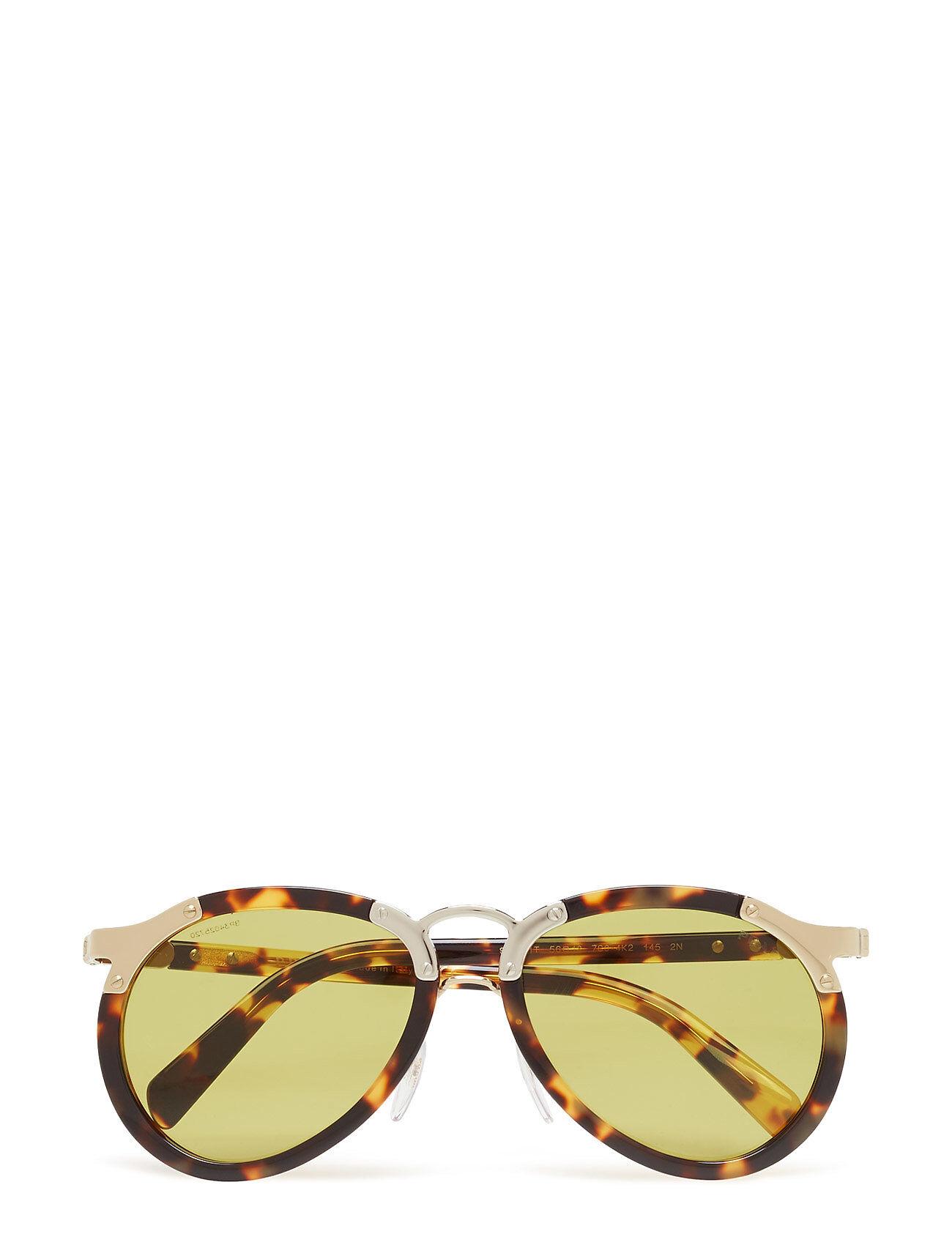 Image of Prada Sunglasses Catwalk Pilottilasit Aurinkolasit Kulta Prada Sunglasses