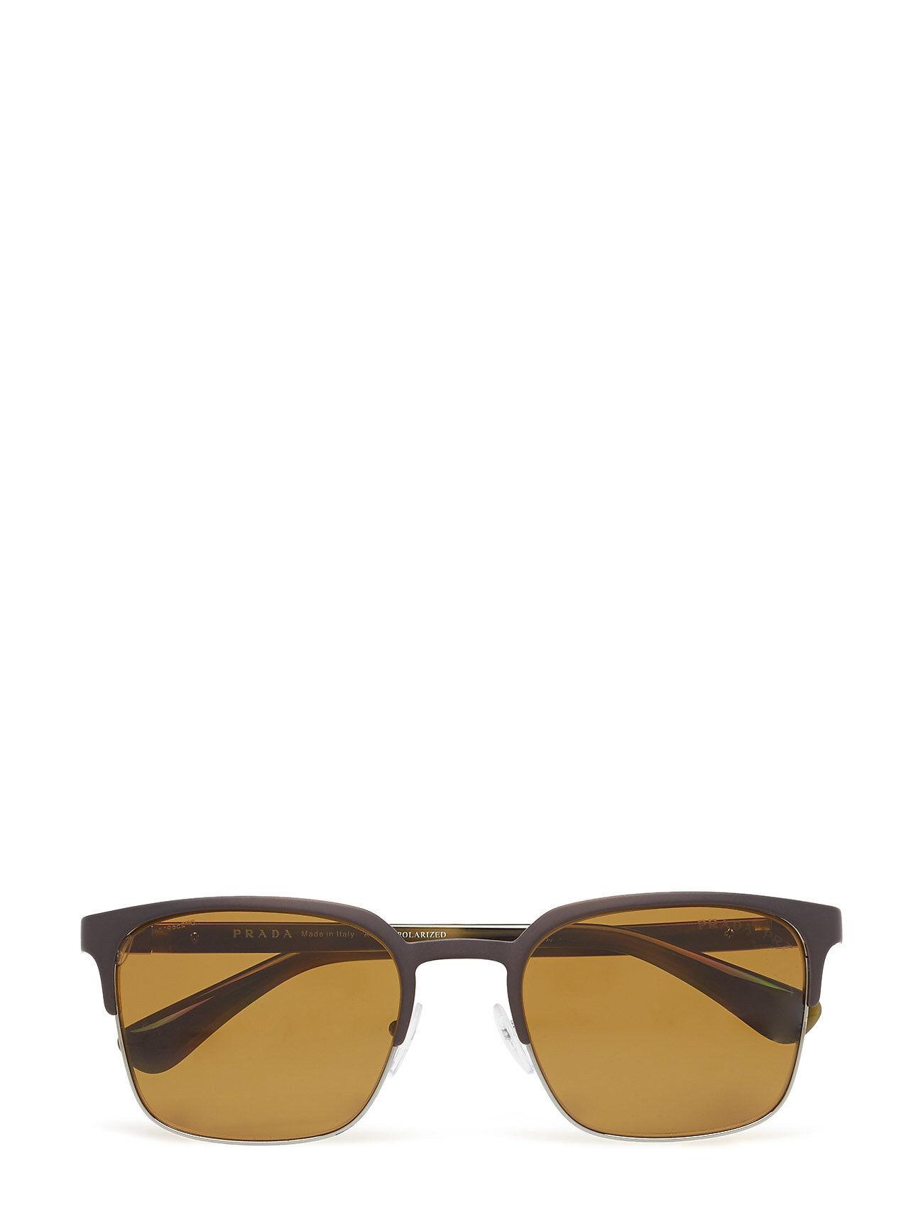 Image of Prada Sunglasses Heritage Wayfarer Aurinkolasit Ruskea Prada Sunglasses