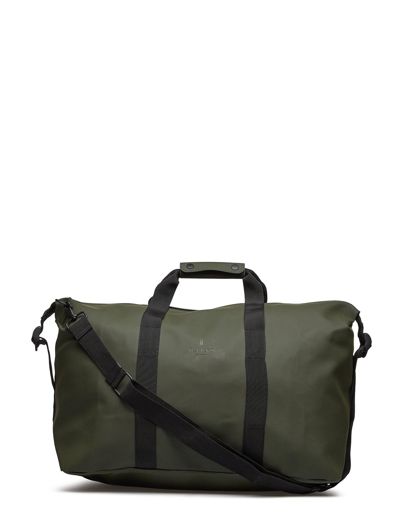 Rains Weekend Bag Bags Weekend & Gym Bags Vihreä