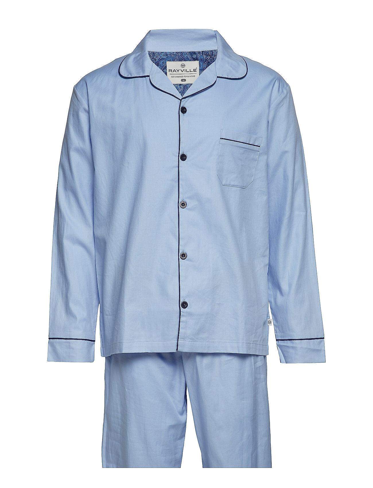 Rayville Mick Pyjamas Solid - Navy Blue - S