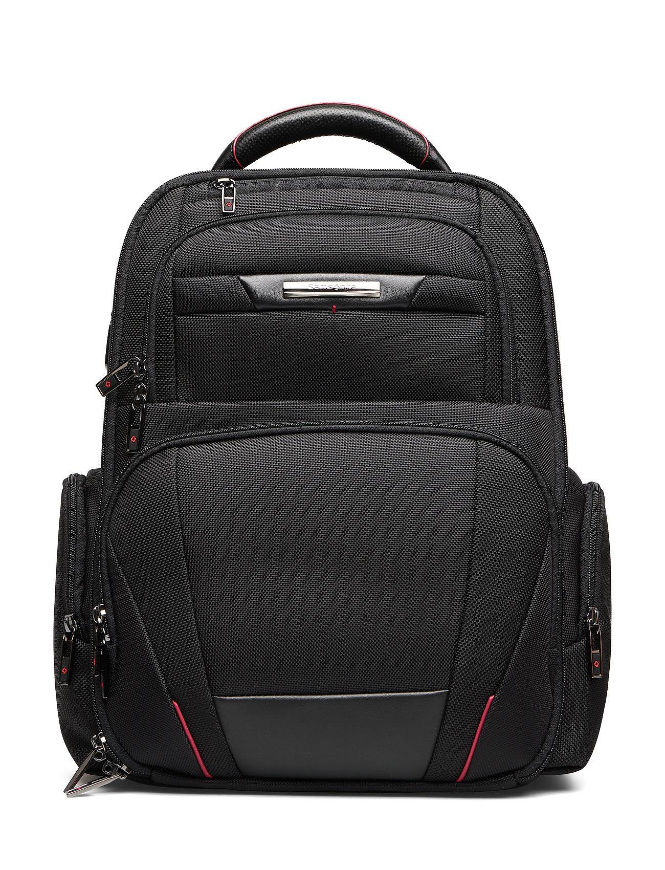 Samsonite Pro Dlx Laptop Backpack 3v 15,6 Reppu Laukku Musta