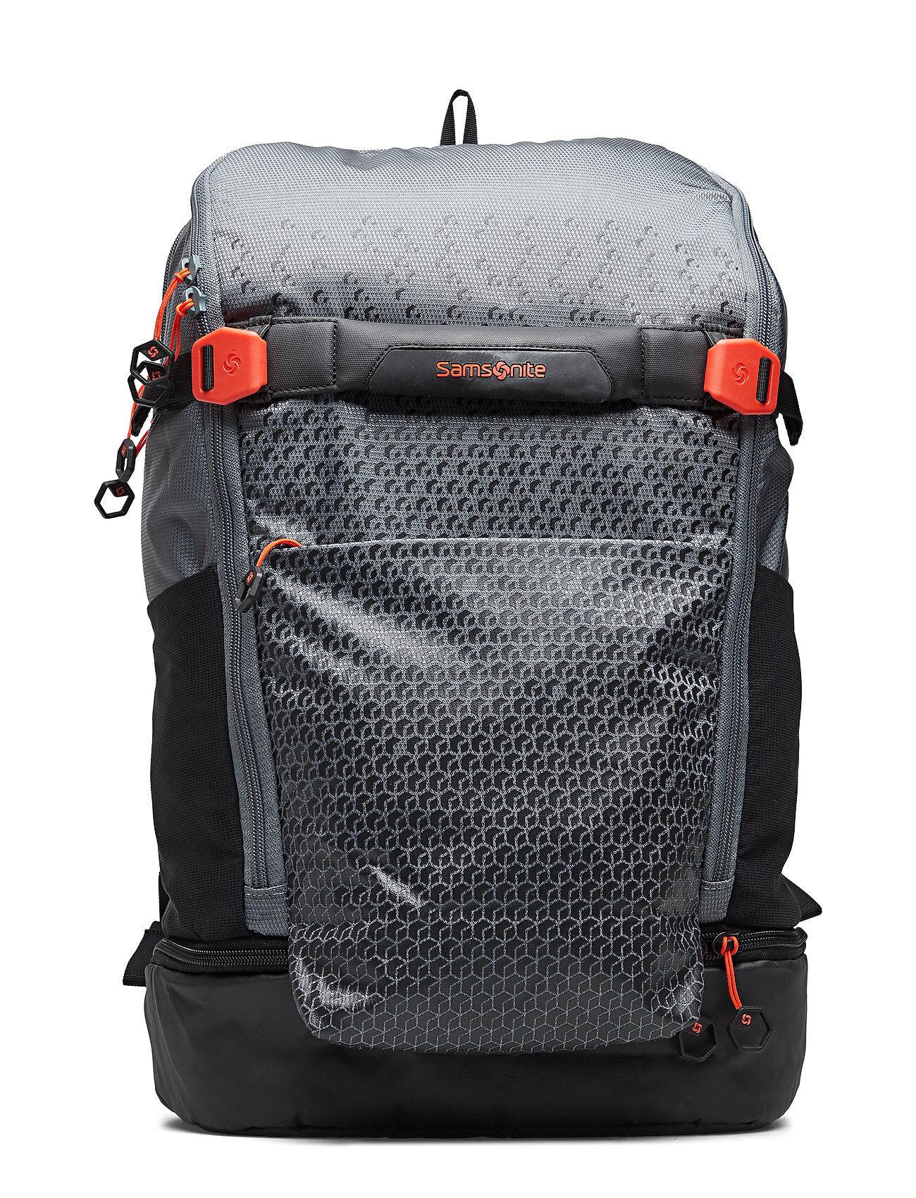 Samsonite Hexa-Packs Laptop Backpack Reppu Laukku Harmaa