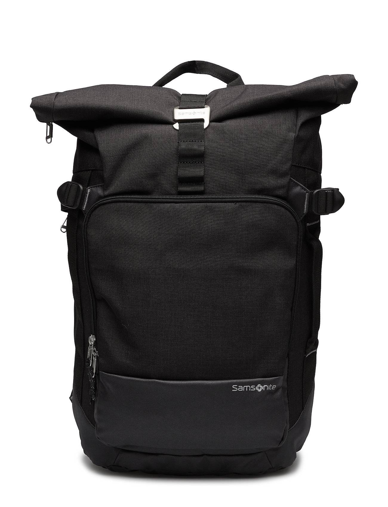 Samsonite Zipproll Backpack M Reppu Laukku Musta
