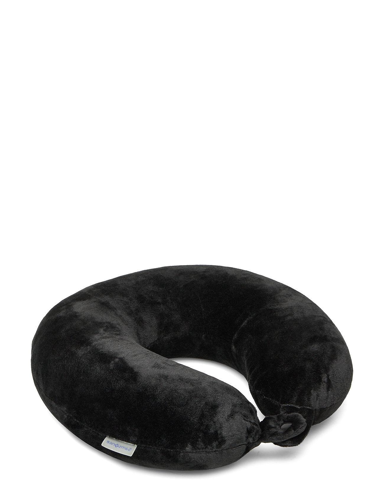 Samsonite Memory Foam Pillow With Pouch Muut Asusteet Musta