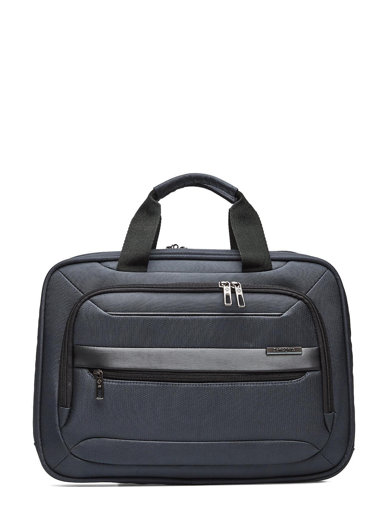 Samsonite Vectura Evo Shuttle Bag 15,6 Tietok Laukku Läppärilaukku Laukku Sininen