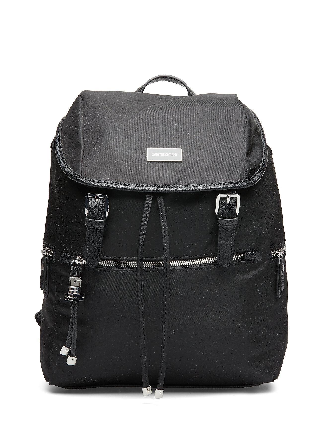 Samsonite Karissa Biz Backpack 14.1 Reppu Laukku Musta