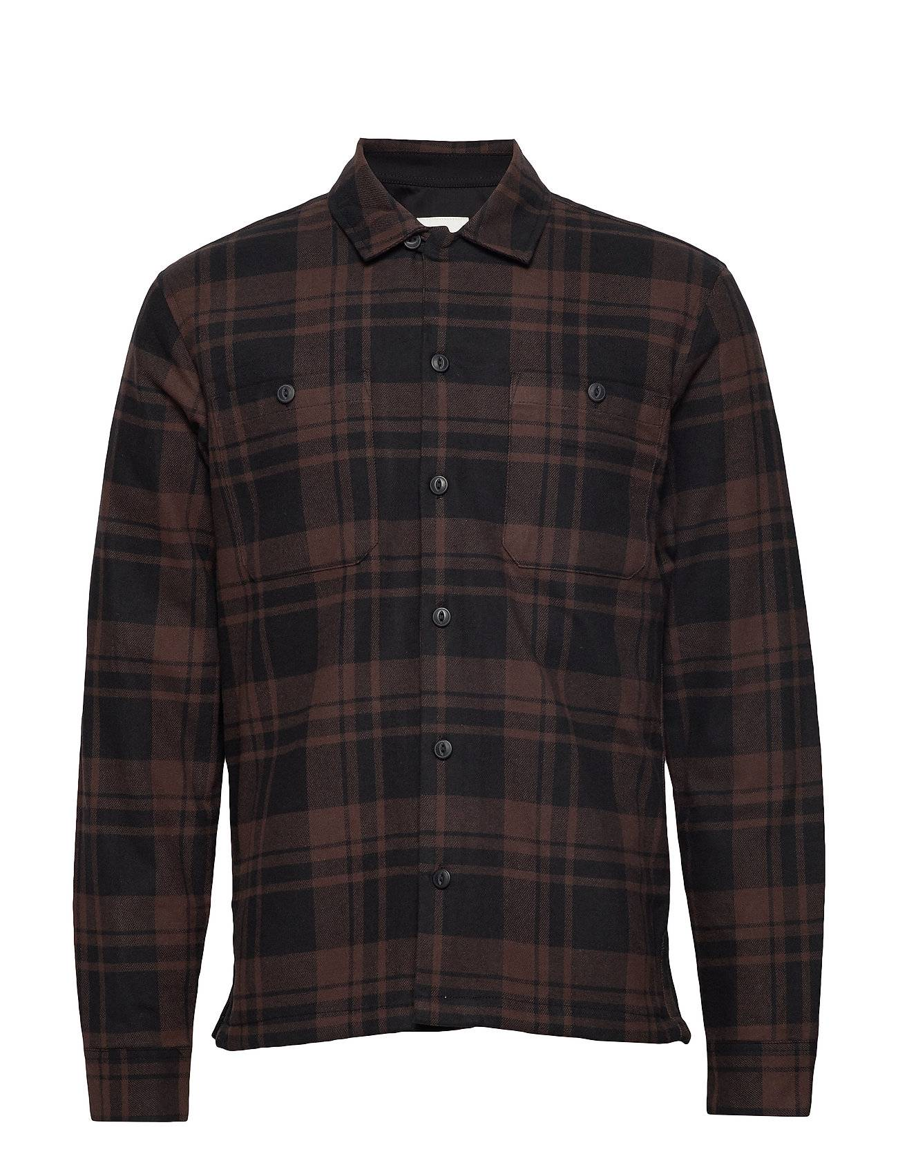 Selected Homme Slhkane Shirt Jacket W Overshirts Ruskea Selected Homme