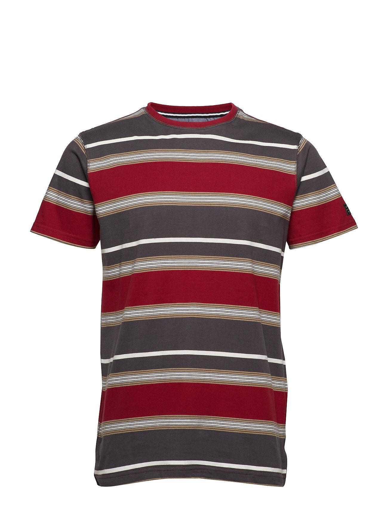 Signal T-Shirt/Top T-shirts Short-sleeved Punainen