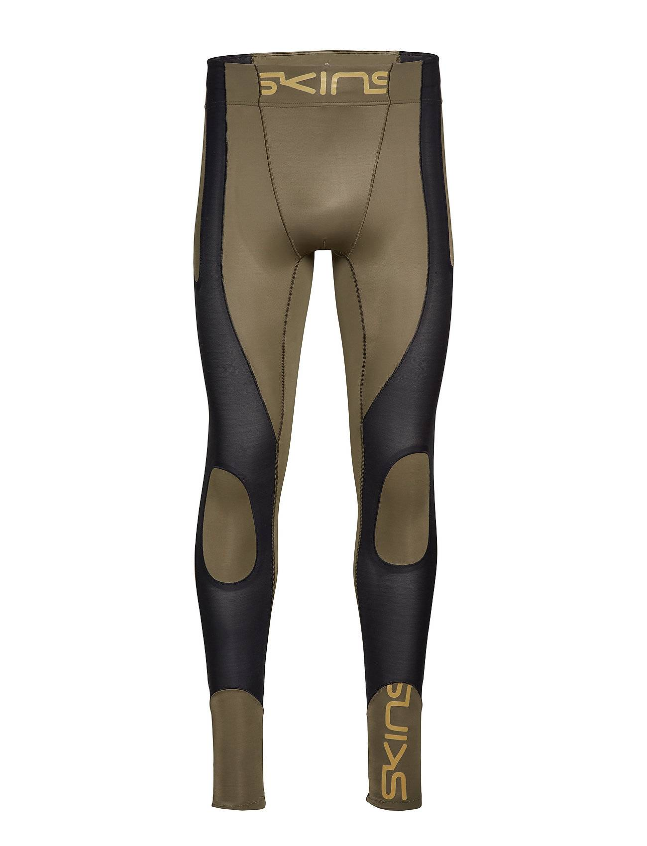 Skins Dnamic Ultimate K-Proprium Mens Long Tights Running/training Tights Vihreä Skins