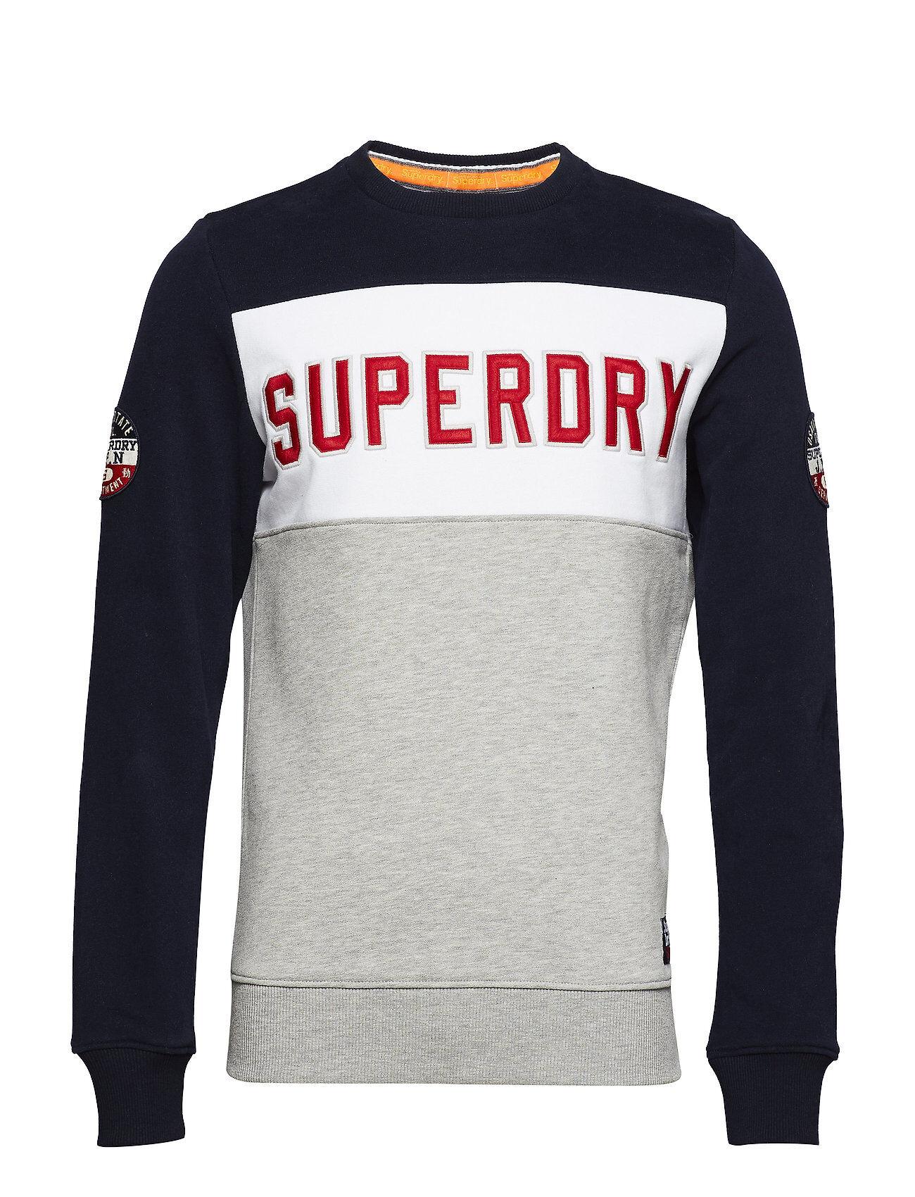Superdry Academy Colour Block Crew