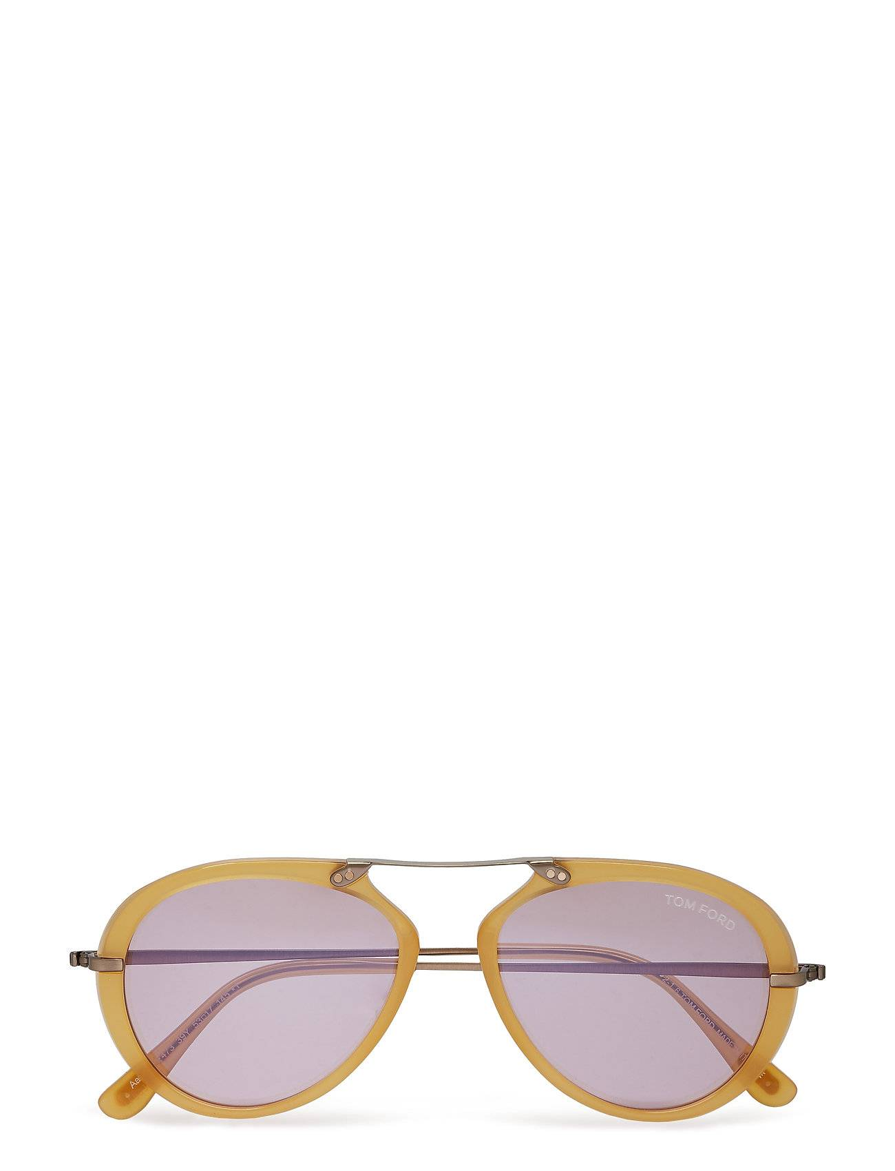 Image of Tom Ford Sunglasses Tm Ford Aaron Pilottilasit Aurinkolasit Kulta Tom Ford Sunglasses