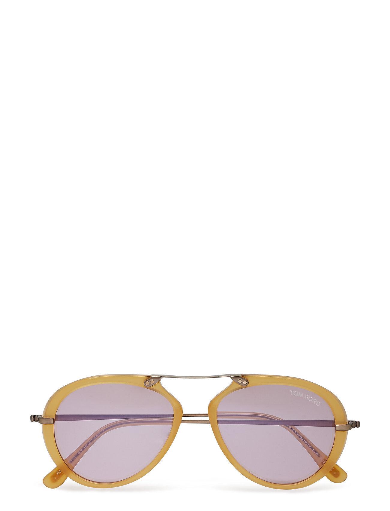 Image of Tom Ford Sunglasses Tm Ford Aaron Pilottilasit Aurinkolasit Kulta